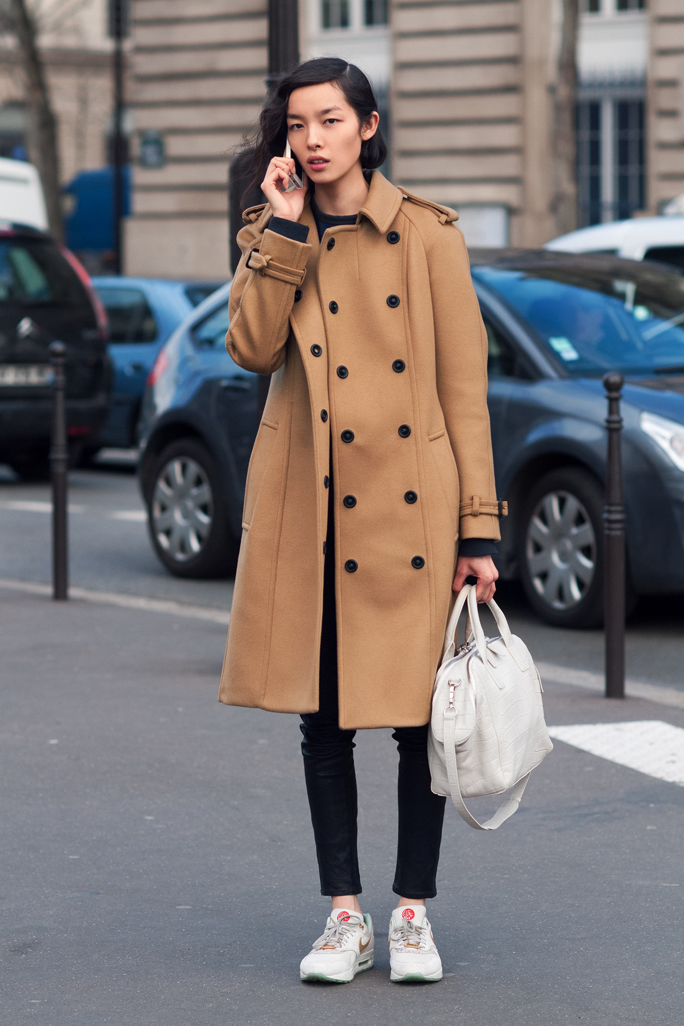 Fei Fei Sun at Paris Fashion Week Fall/Winter 2014