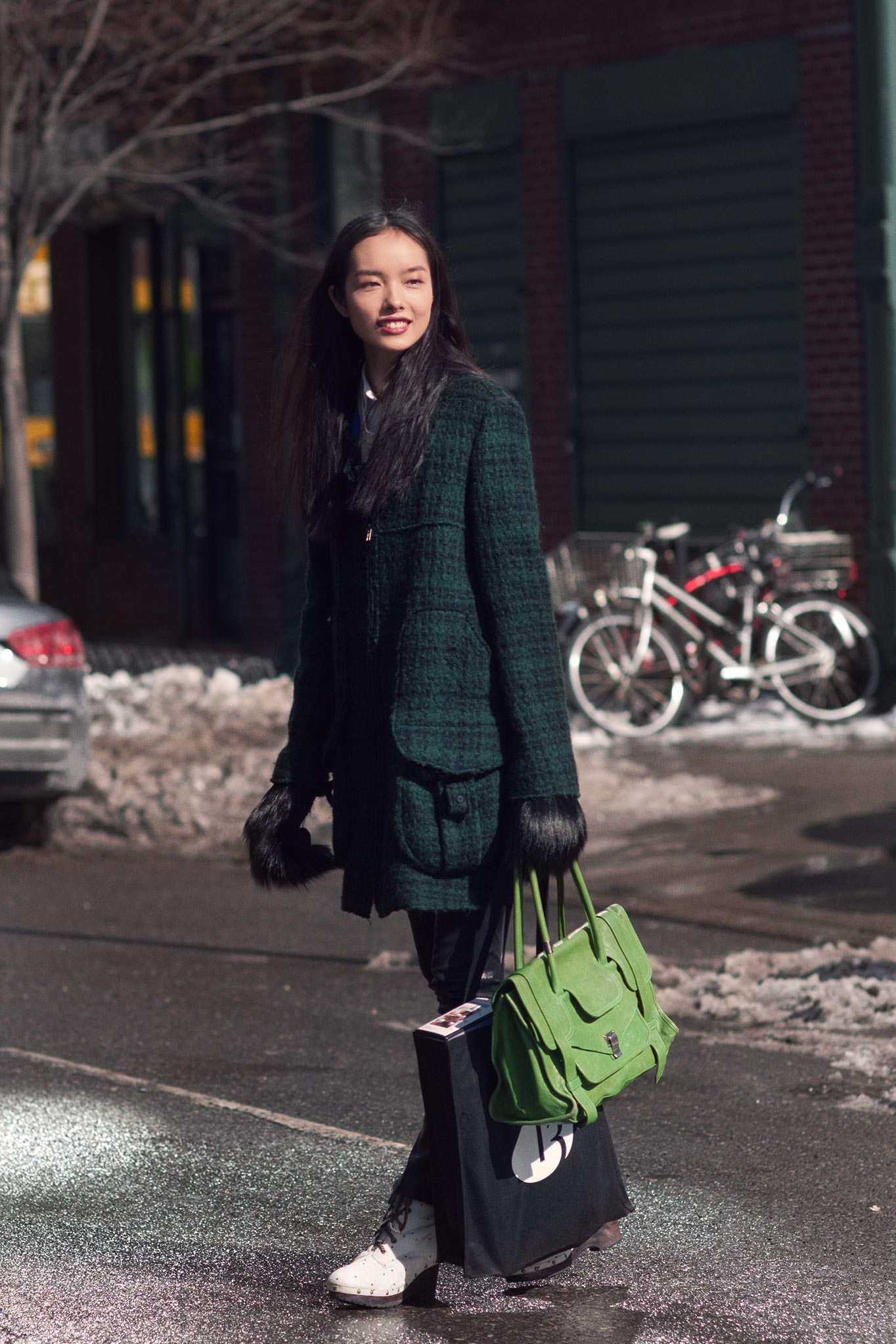 Fei Fei Sun at New York Fashion Week Fall/Winter 2013