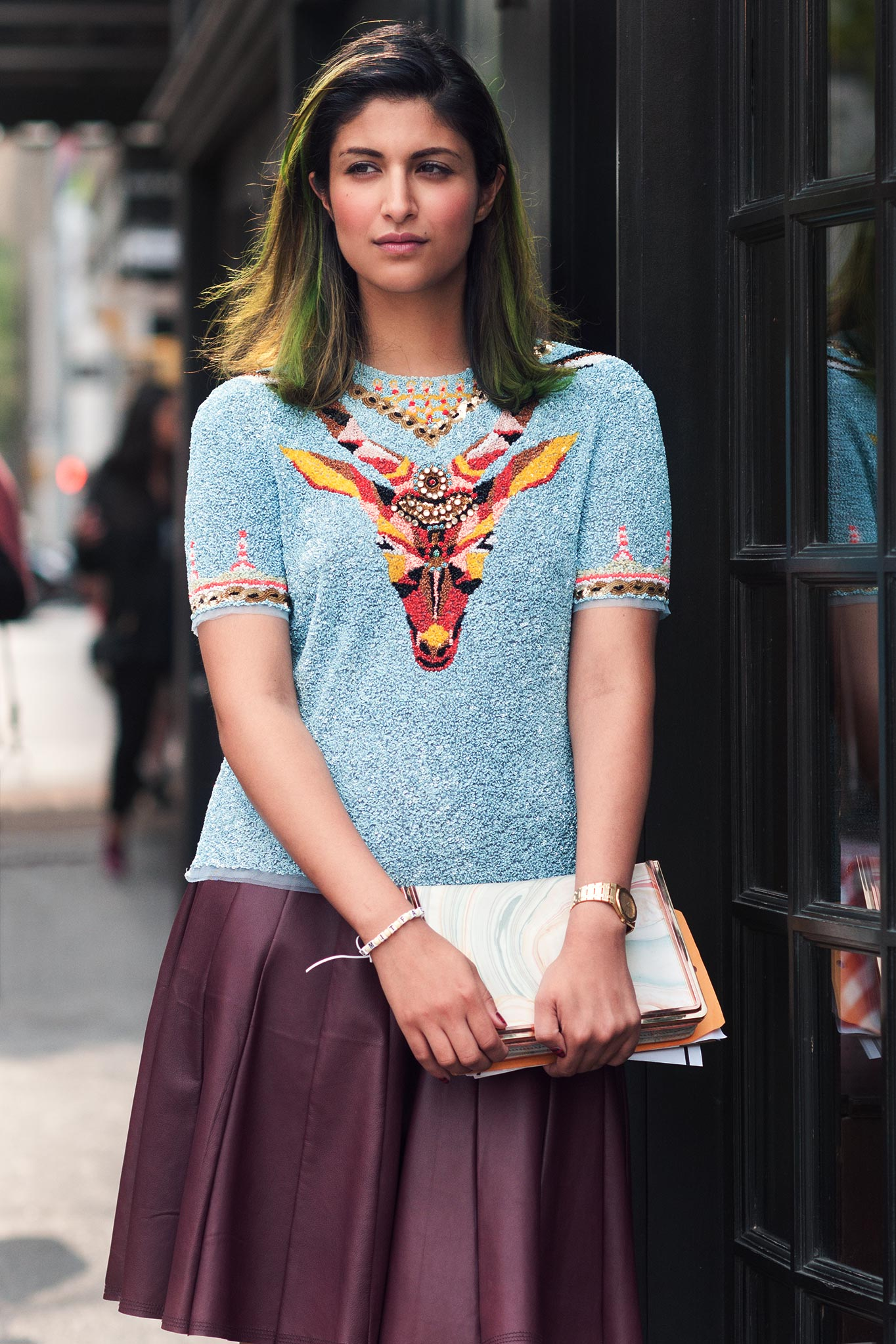 Preetma Singh at New York Fashion Week Spring/Summer 2014