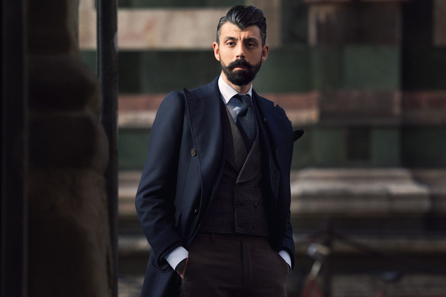 Christofer Kaprelian at Pitti Uomo 87