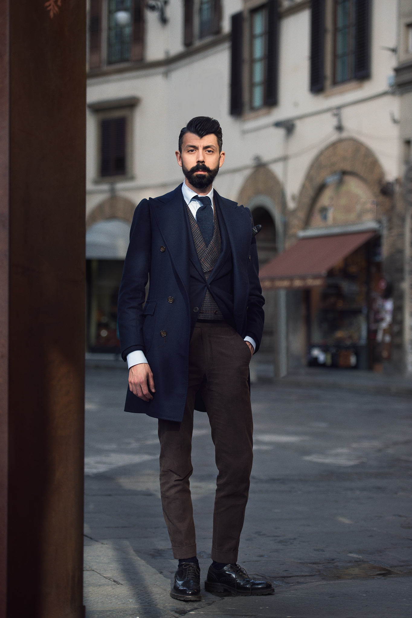 Pitti Uomo 87 Christofer Kaprelian