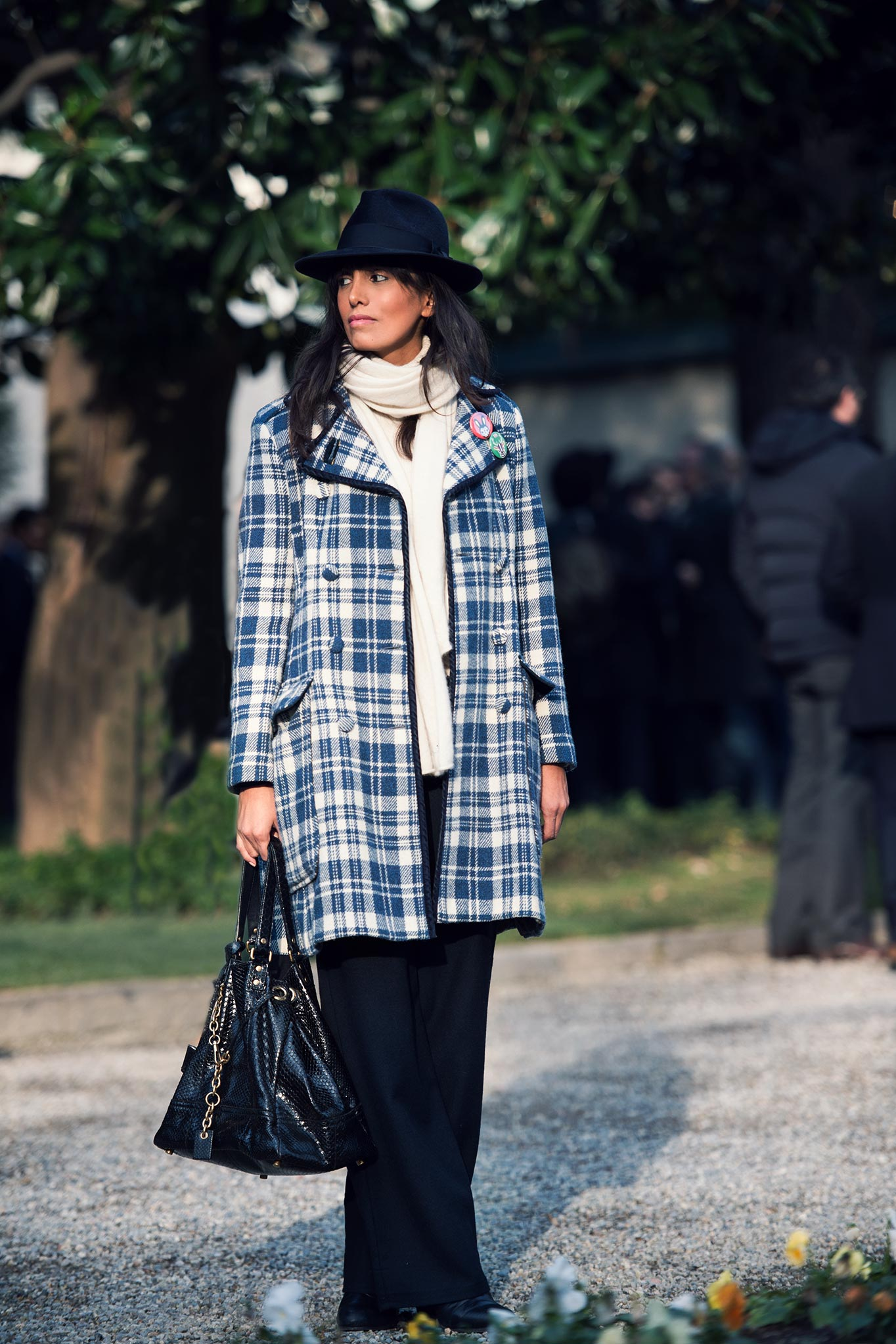 Tarcila Bassi at Milan Men's Fashion Week Fall/Winter 2015