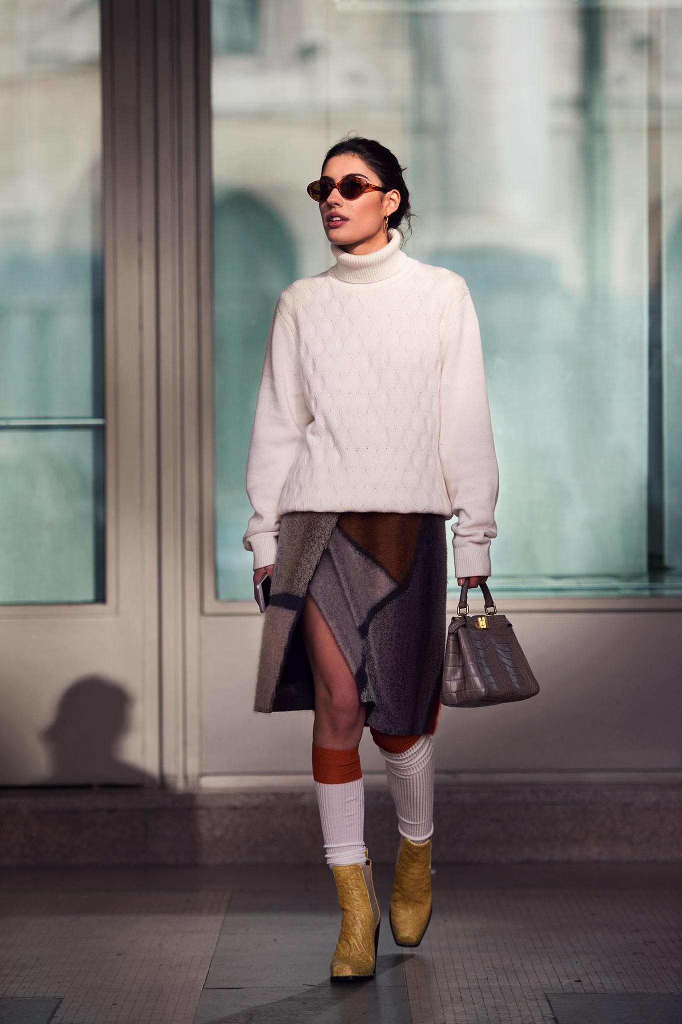 Patricia Manfield at Milan Men's Fashion Week Fall/Winter 2015
