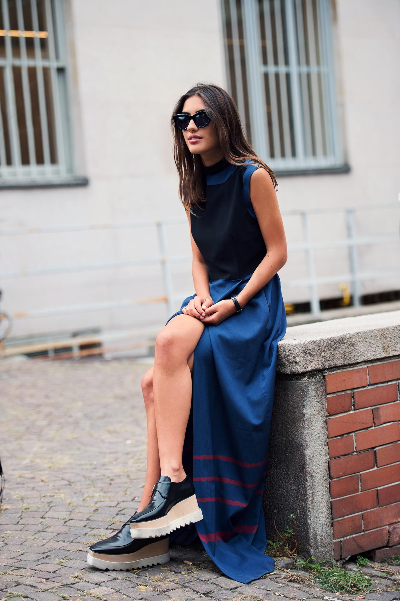 Patricia Manfield at Milan Fashion Week Spring/Summer 2015