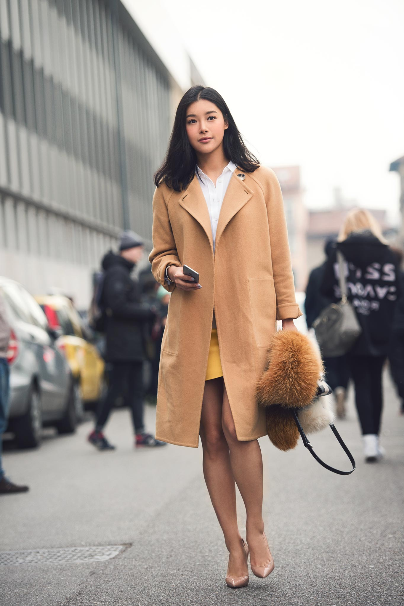 Jasper Xu at Milan Fashion Week Fall/Winter 2015