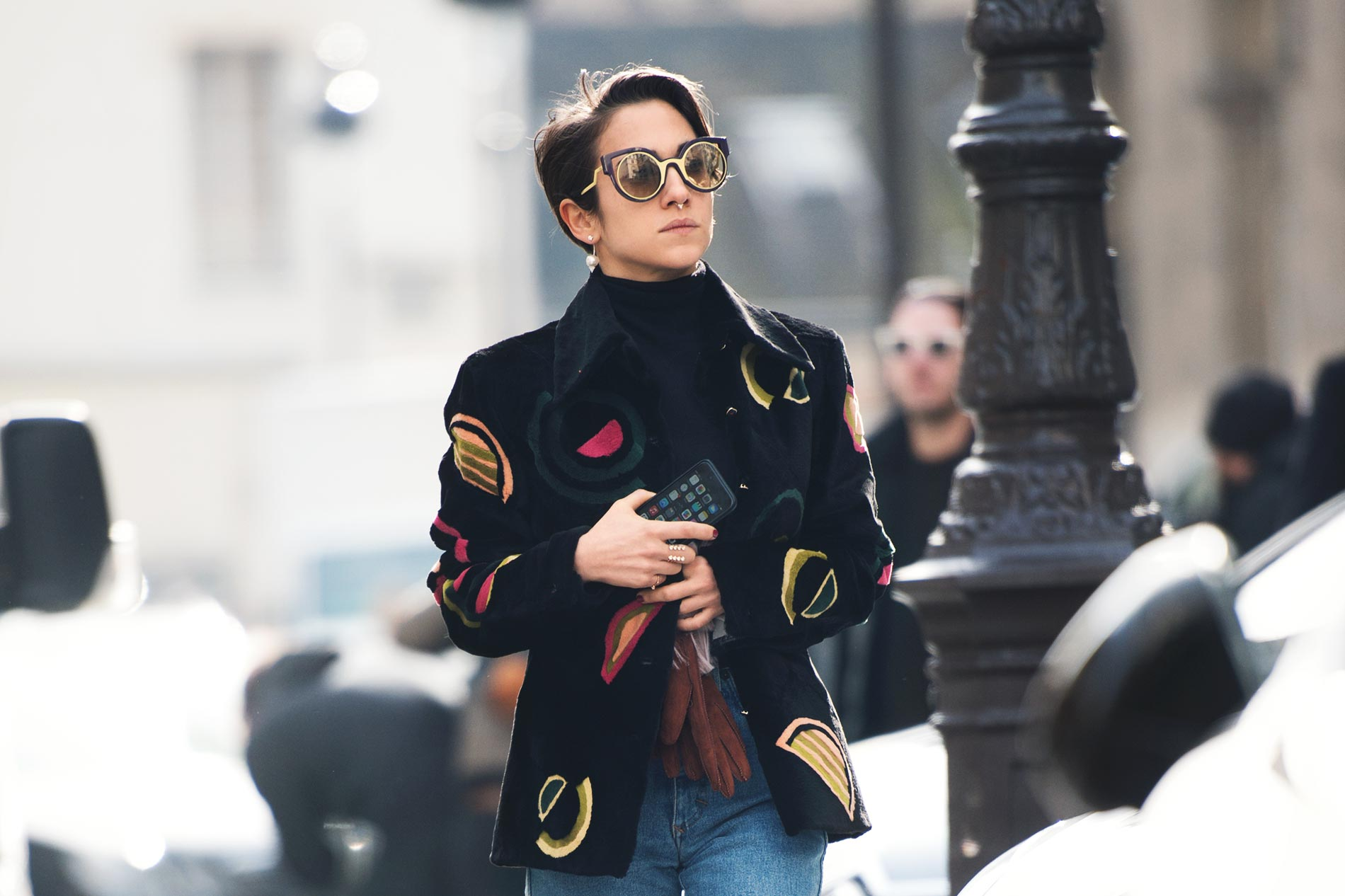 Delfina Delettrez at Paris Fashion Week Fall/Winter 2015