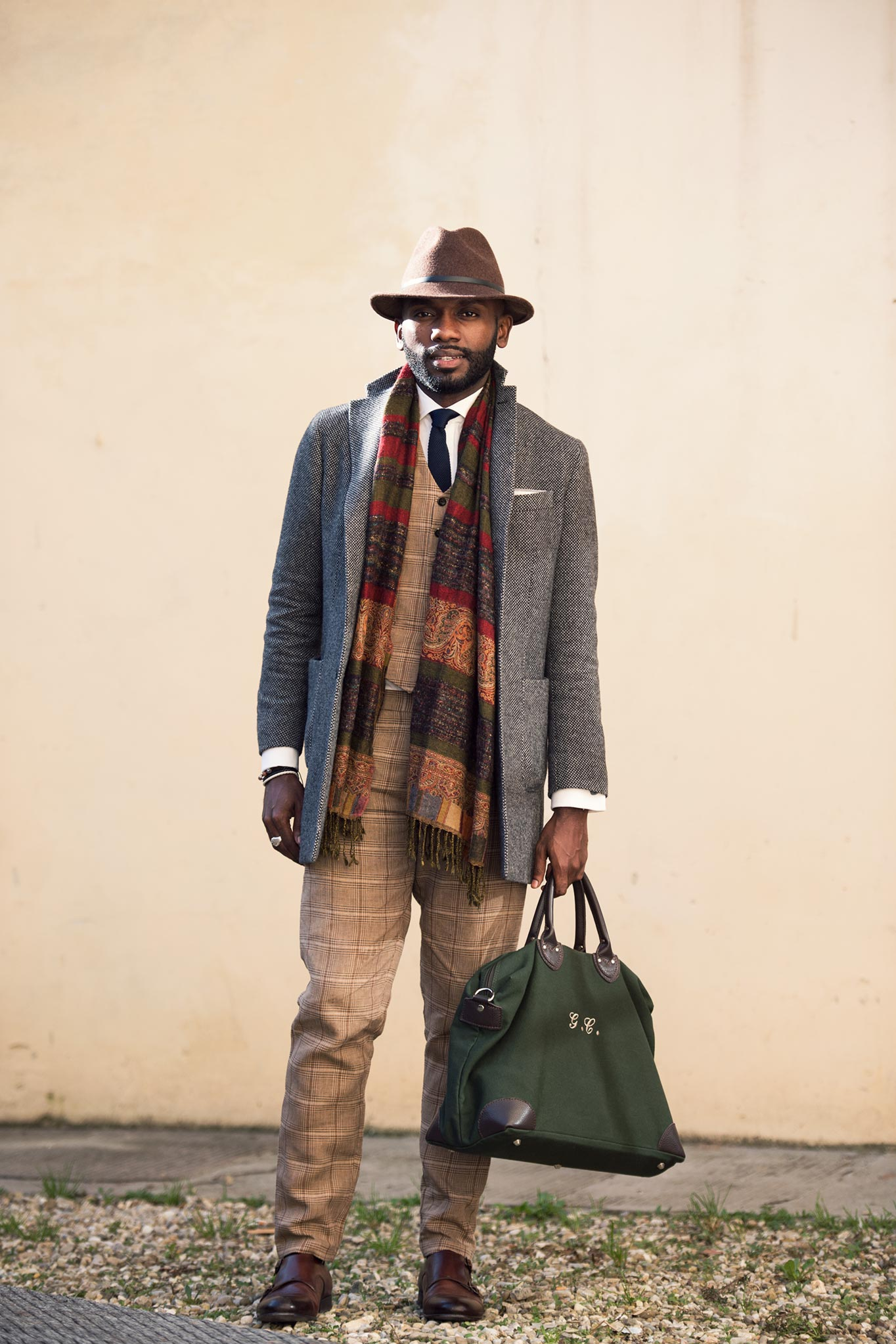 Geoff K. Cooper at Pitti Uomo 87