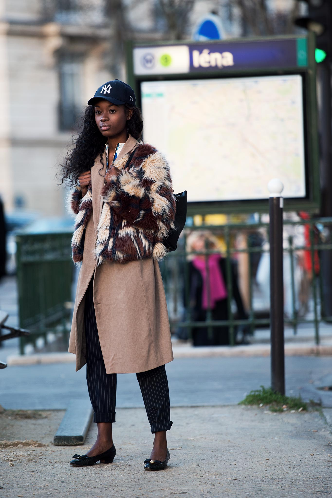Kaysy Gotay at Paris Fashion Week Fall/Winter 2015