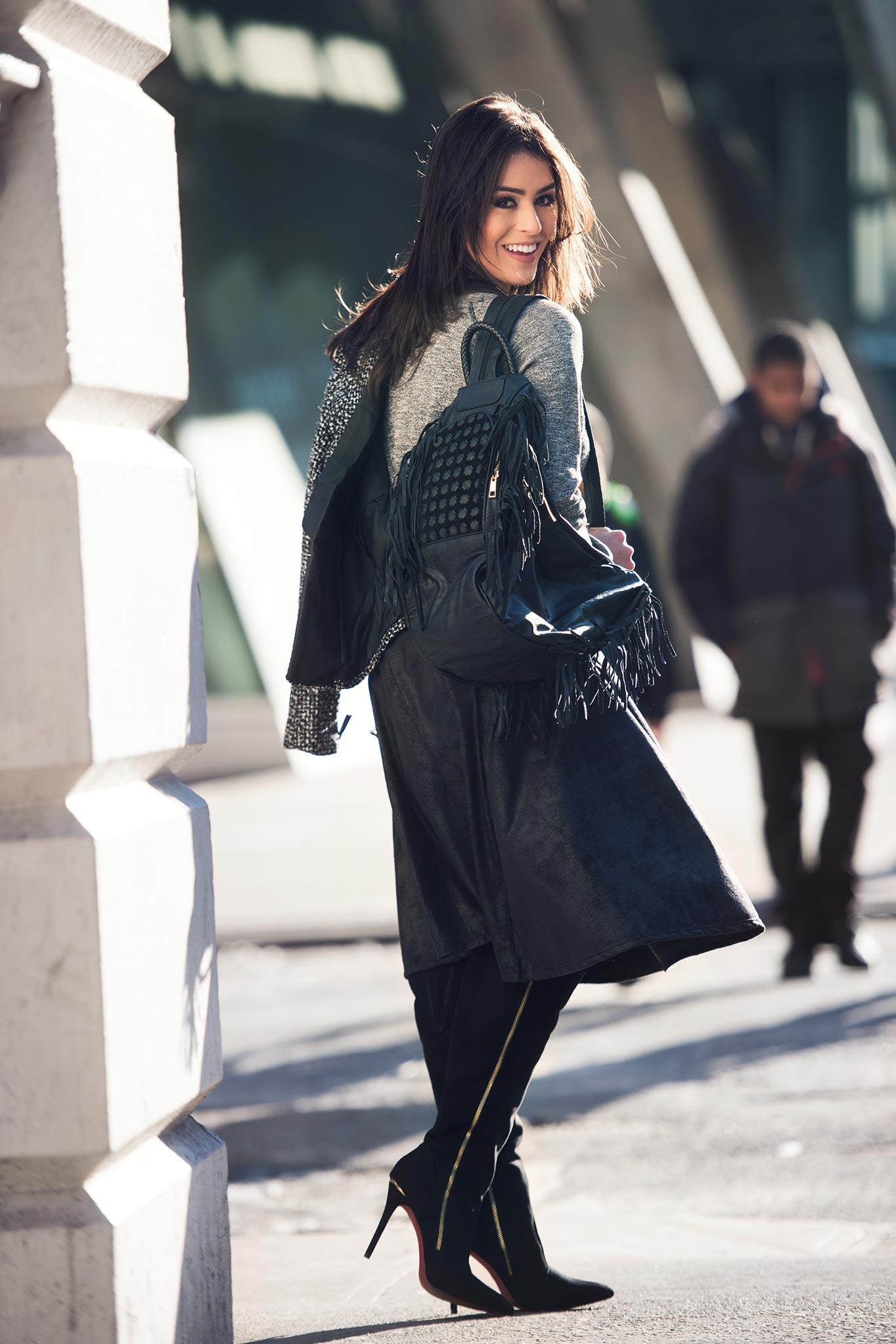Mariana Saad at New York Fashion Week Fall/Winter 2015