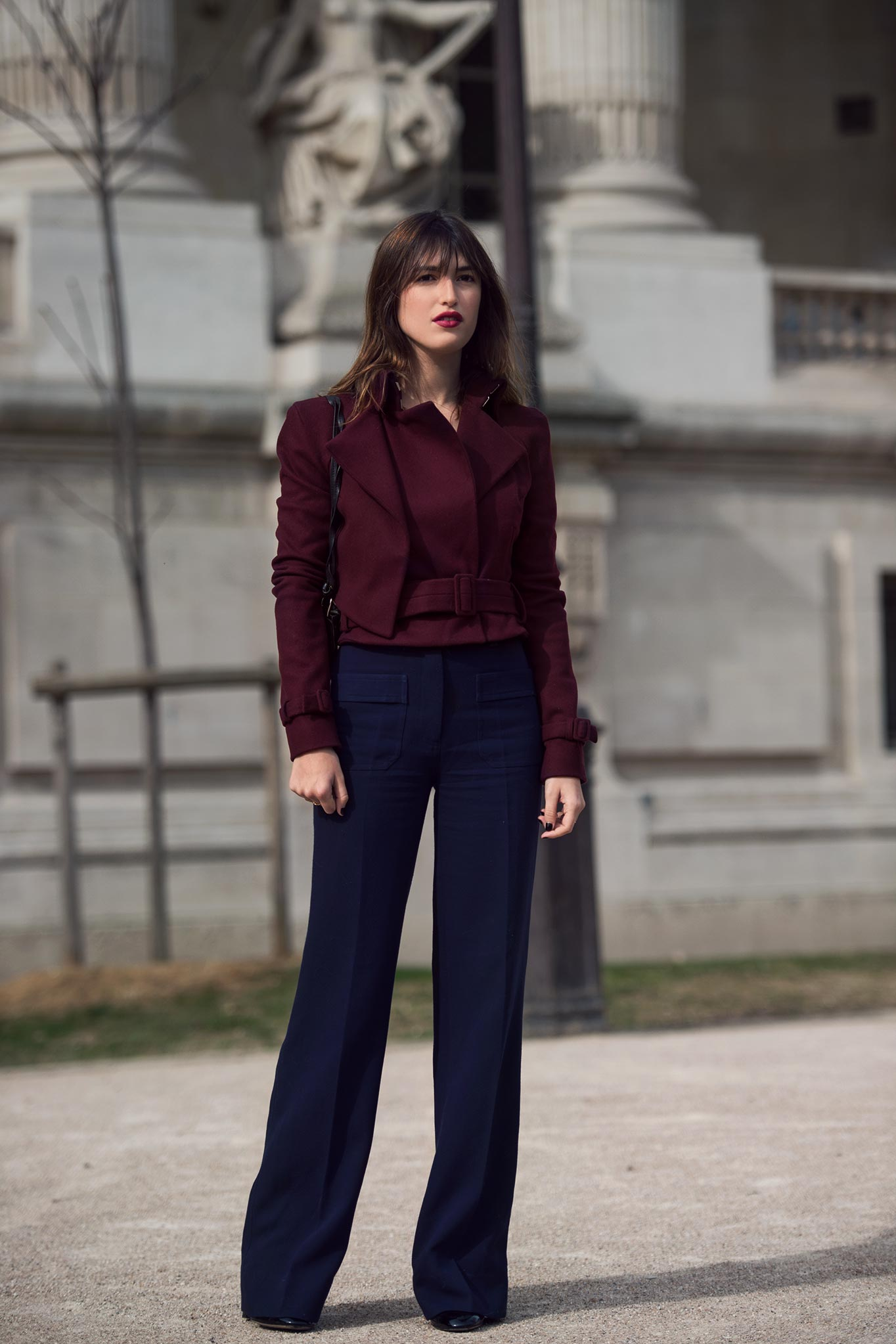 Jeanne Damas at Paris Fashion Week Fall/Winter 2015