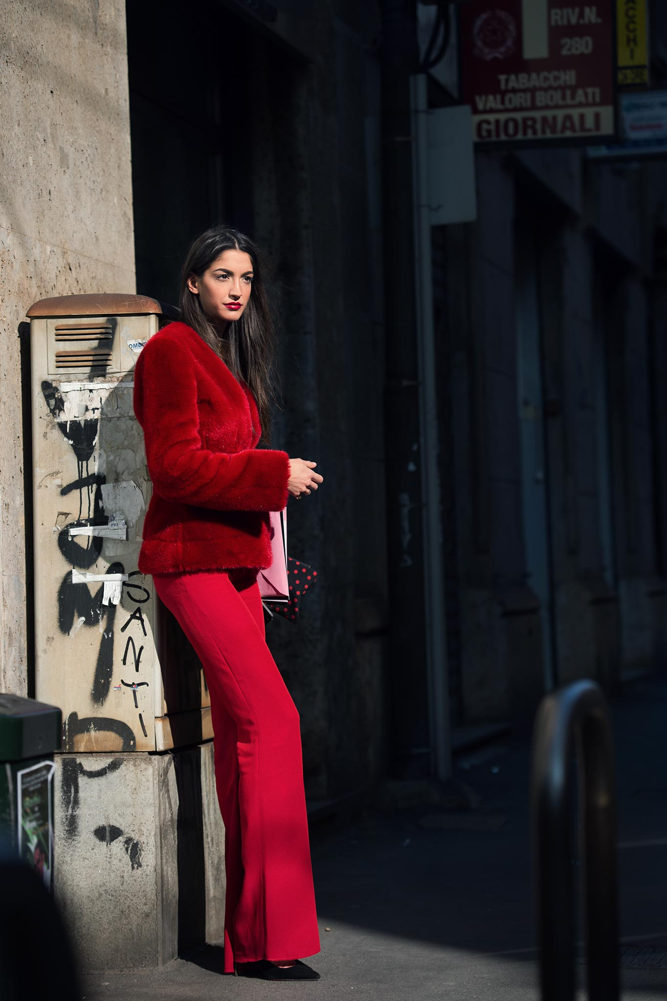 Sara Nicole Rossetto at Milan Fashion Week Fall/Winter