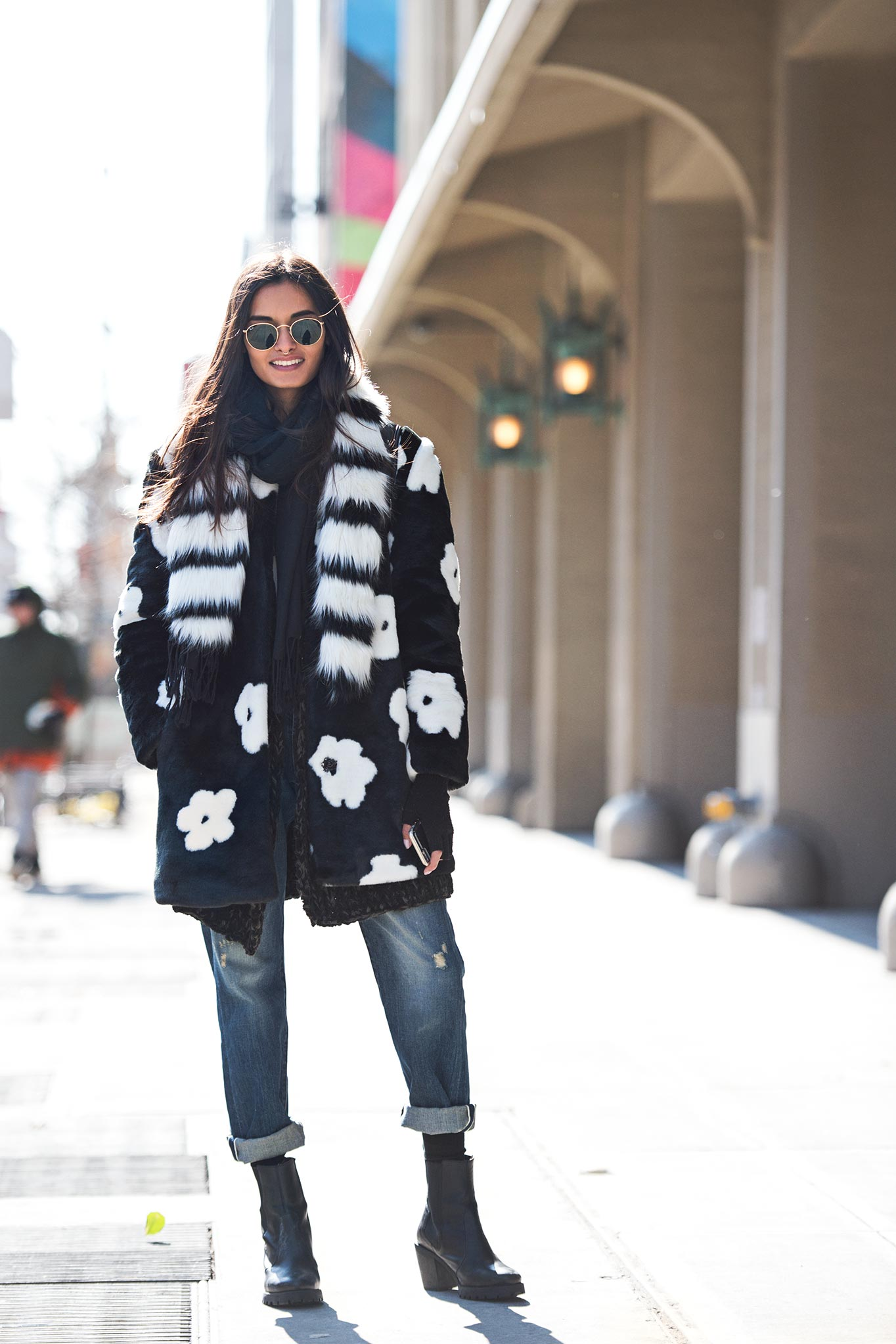 Gizele Oliveira at New York Fashion Week Fall/Winter 2015