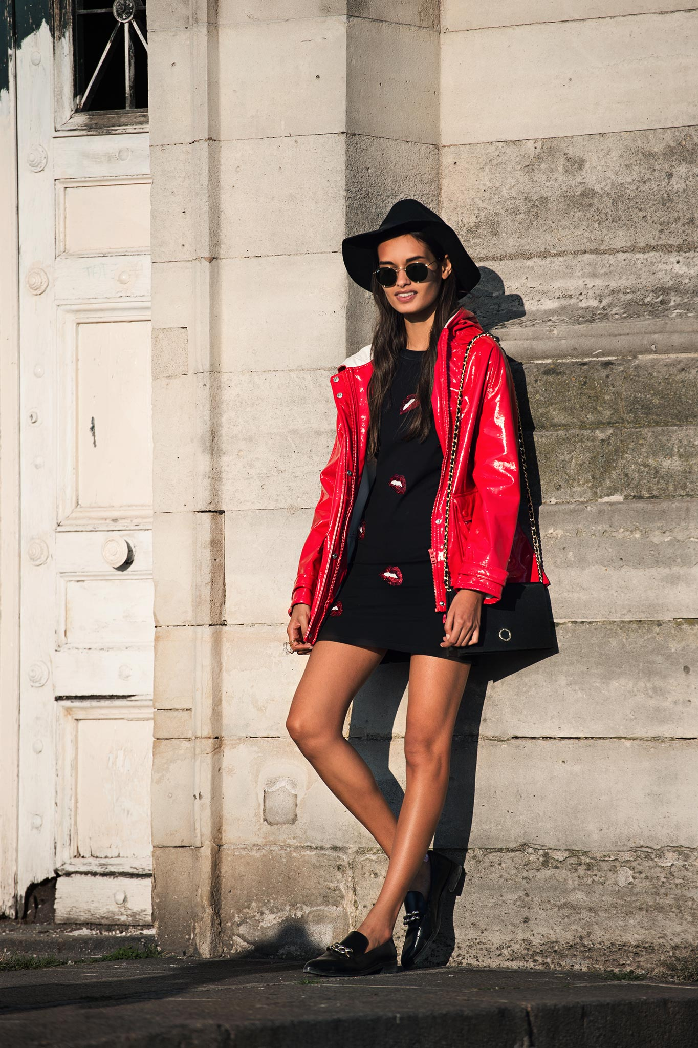 Gizele Oliveira at Paris Fashion Week Spring/Summer 2015
