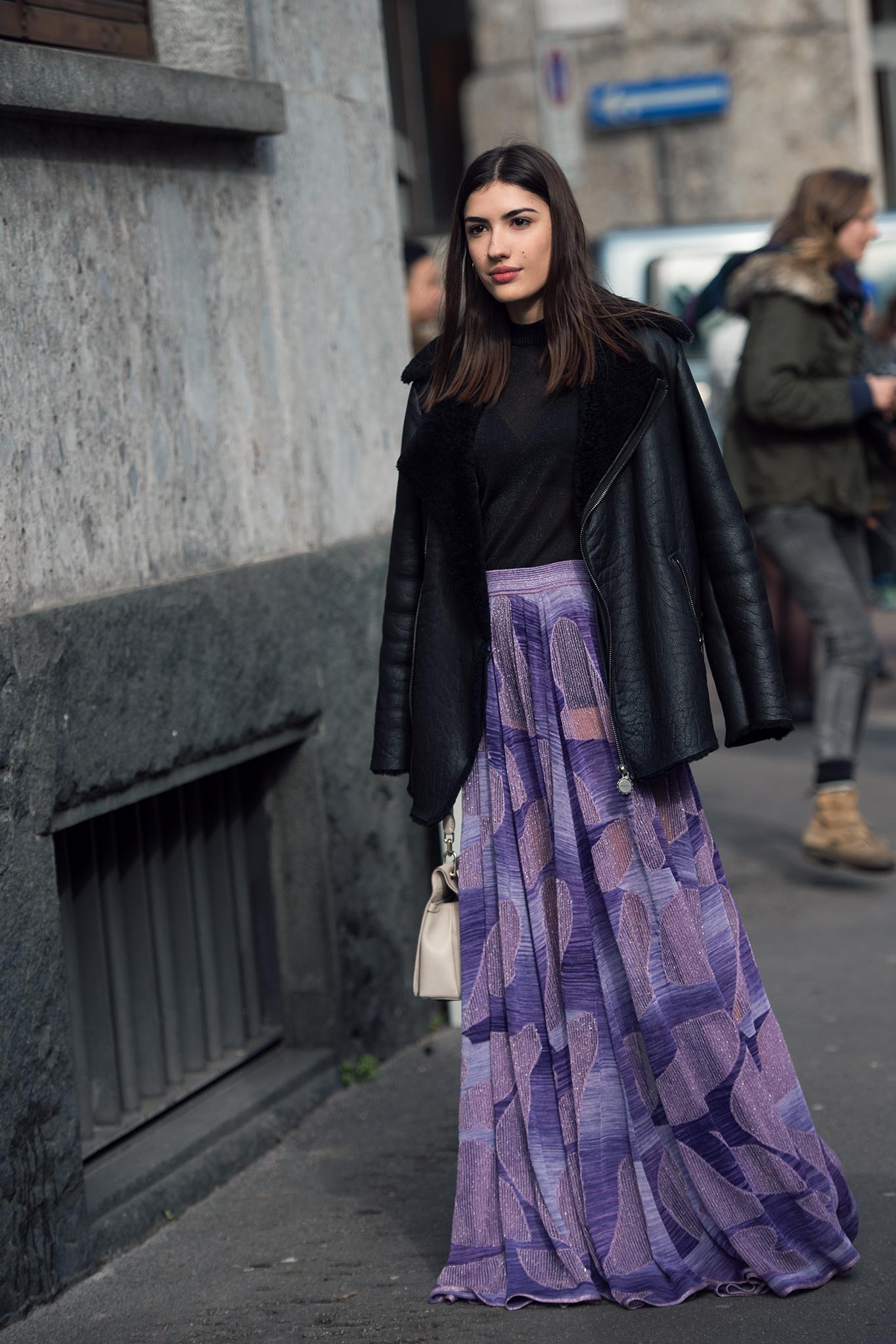 Patricia Manfield at Milan Fashion Week Fall/Winter 2015