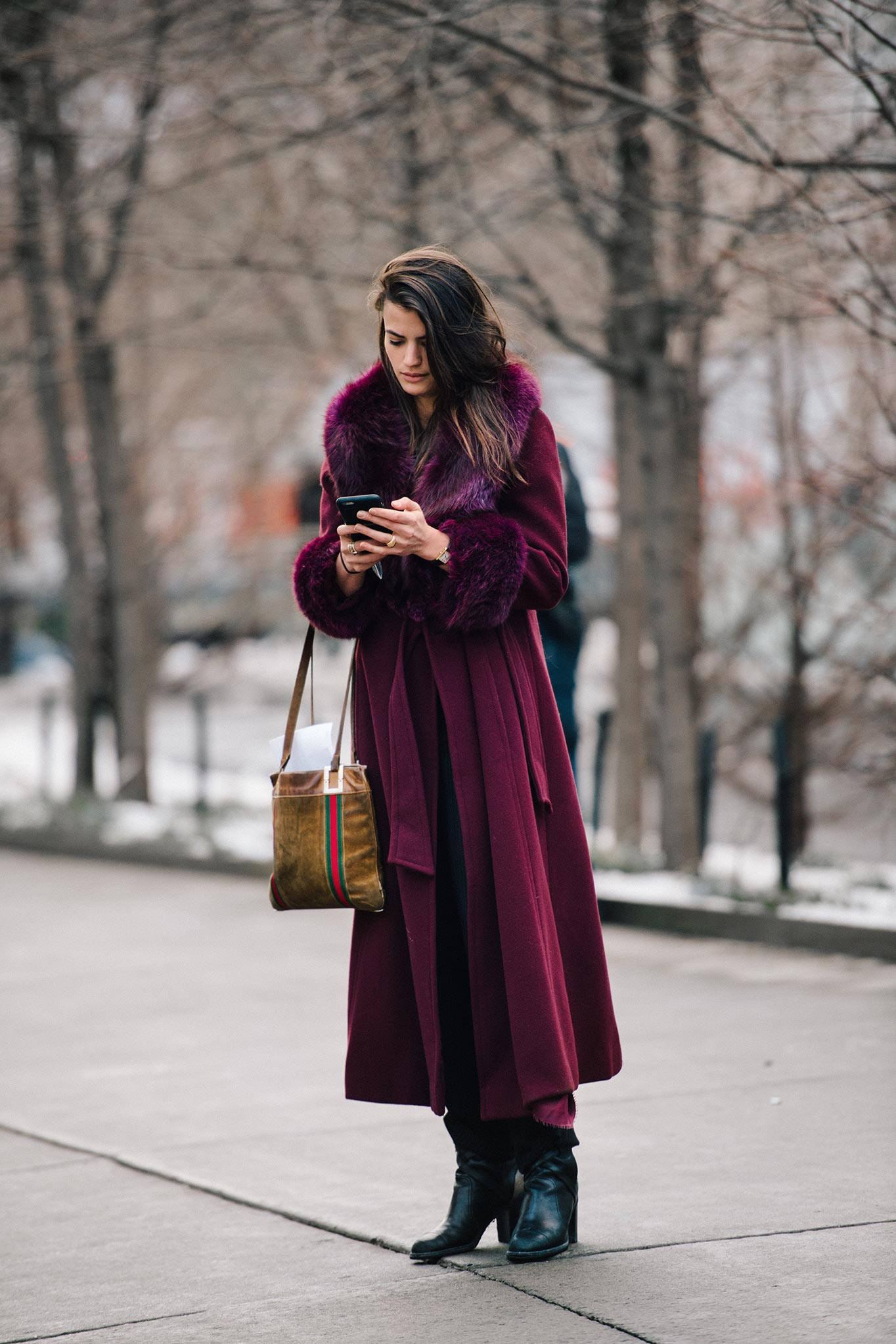 Alessandra Codinha at New York Fashion Week Fall/Winter 2015