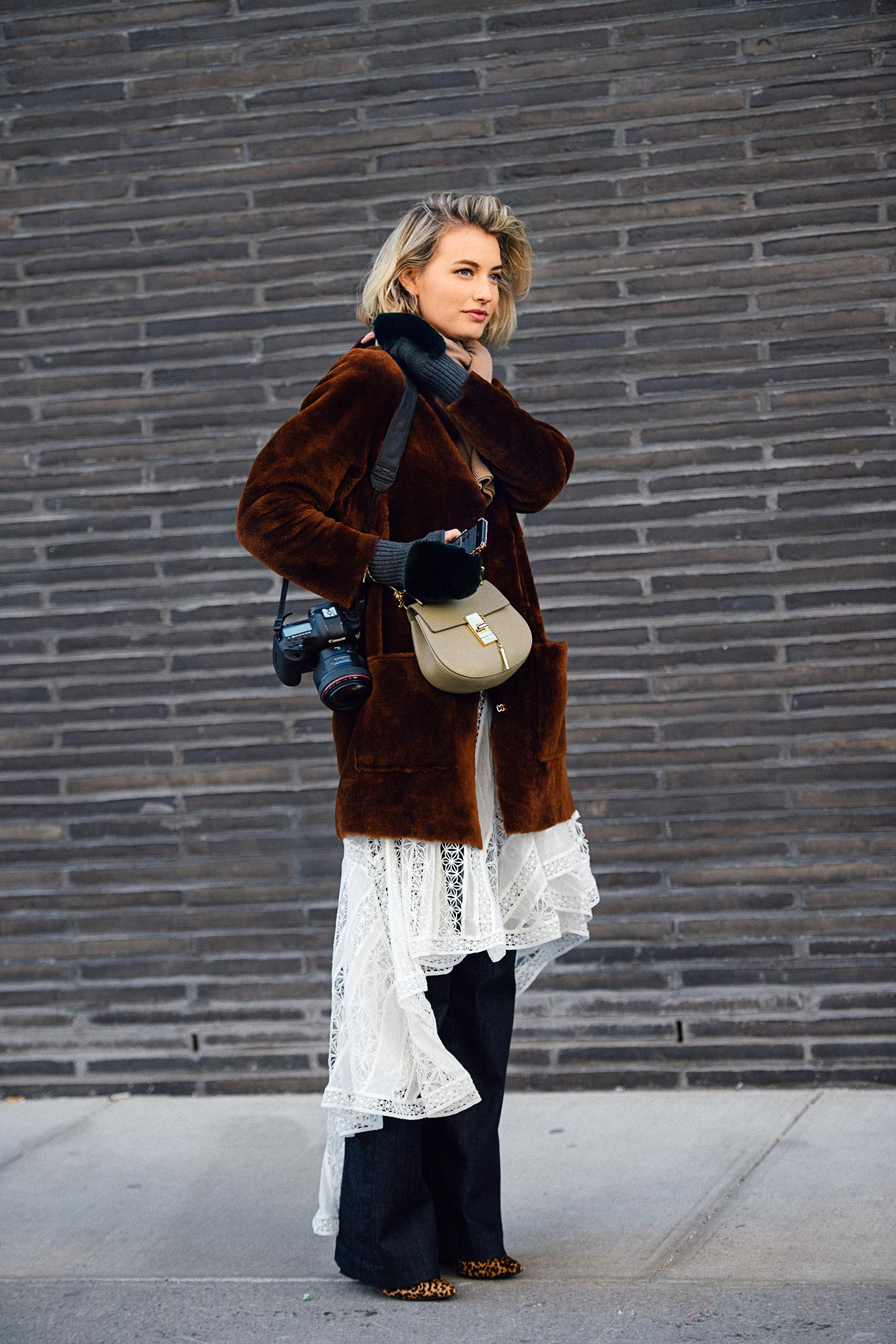 Zanita Whittington at New York Fashion Week Fall/Winter 2015