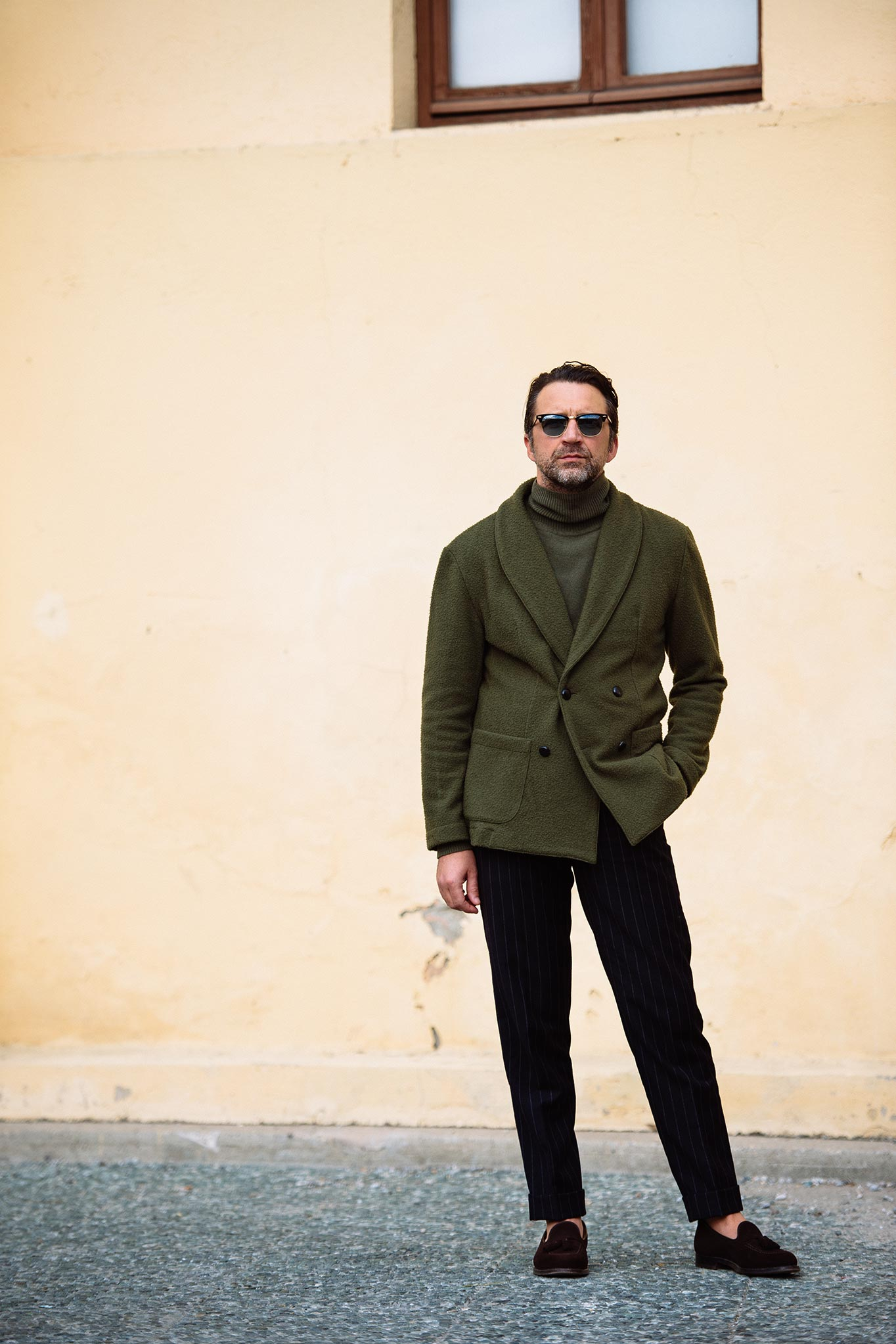 Andrea Andreoli at Pitti Uomo 87