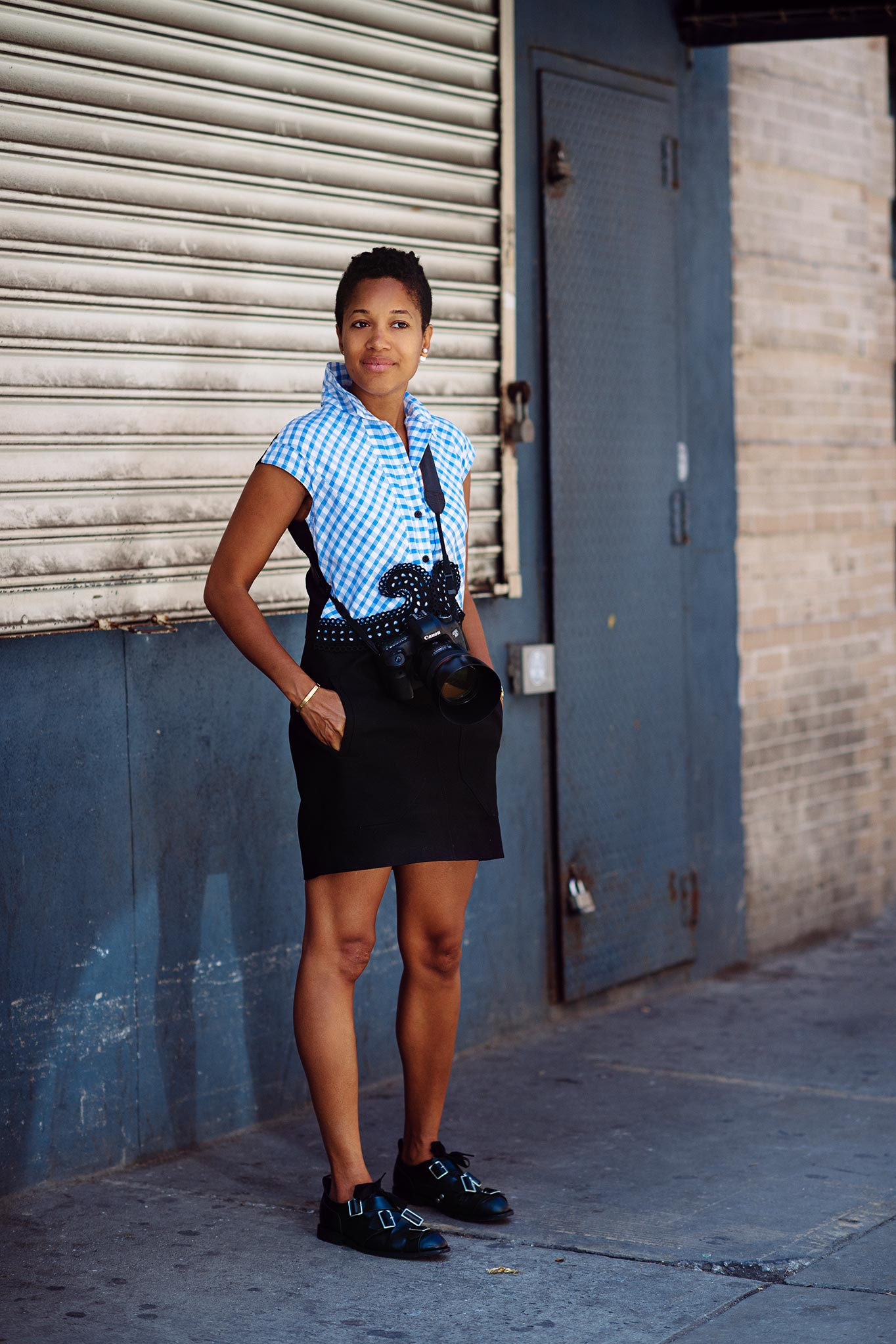 Tamu McPherson at New York Fashion Week Spring/Summer 2015