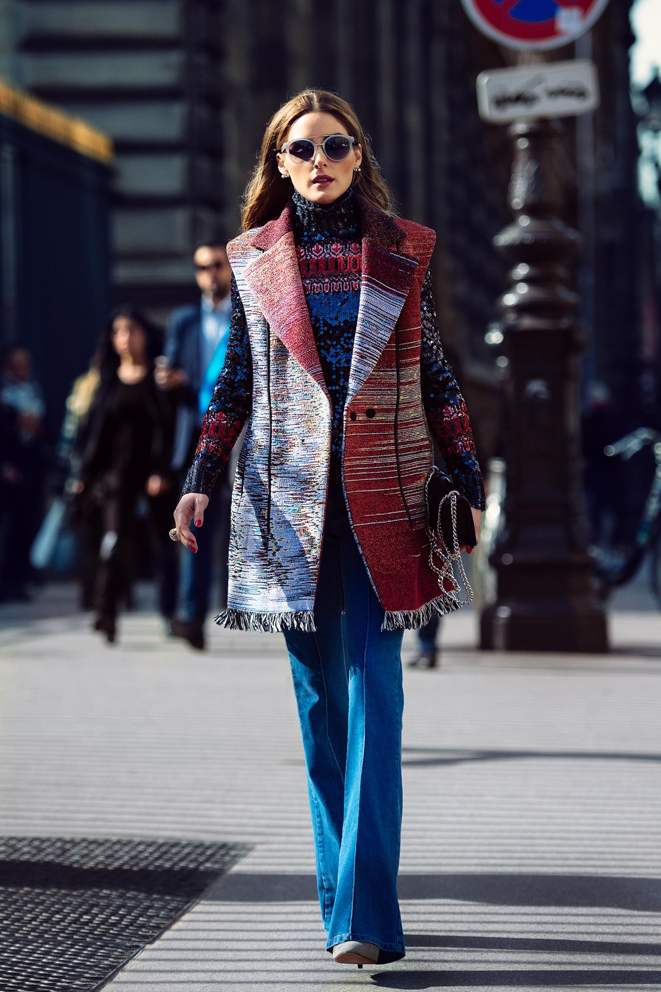 Olivia Palermo at Paris Fashion Week Fall/Winter 2015