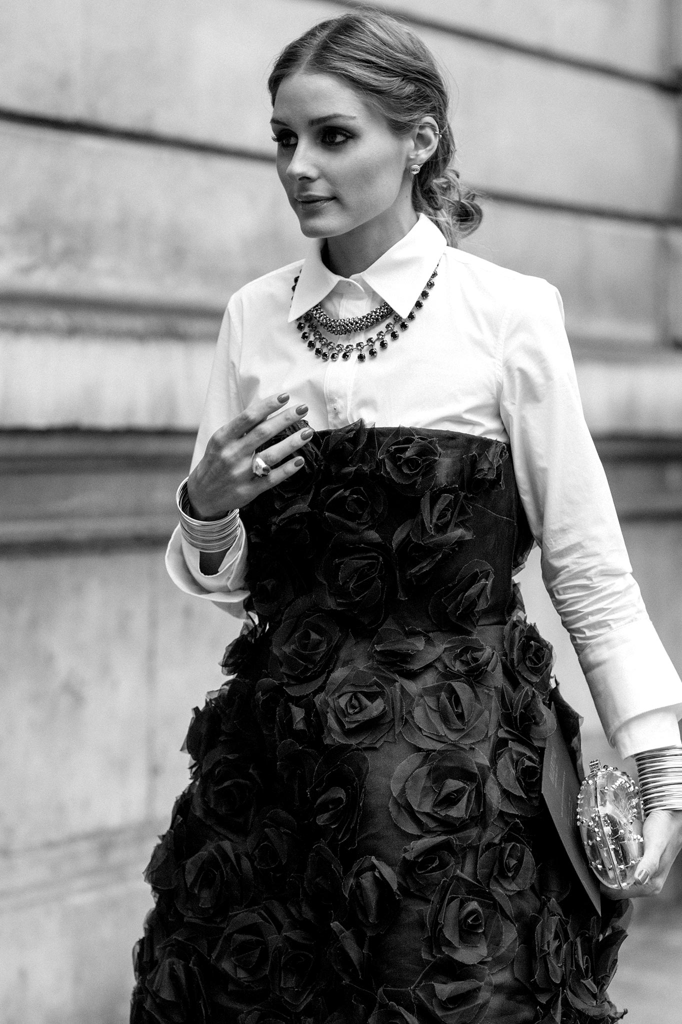 Olivia Palermo at Paris Couture Fall/Winter 2013