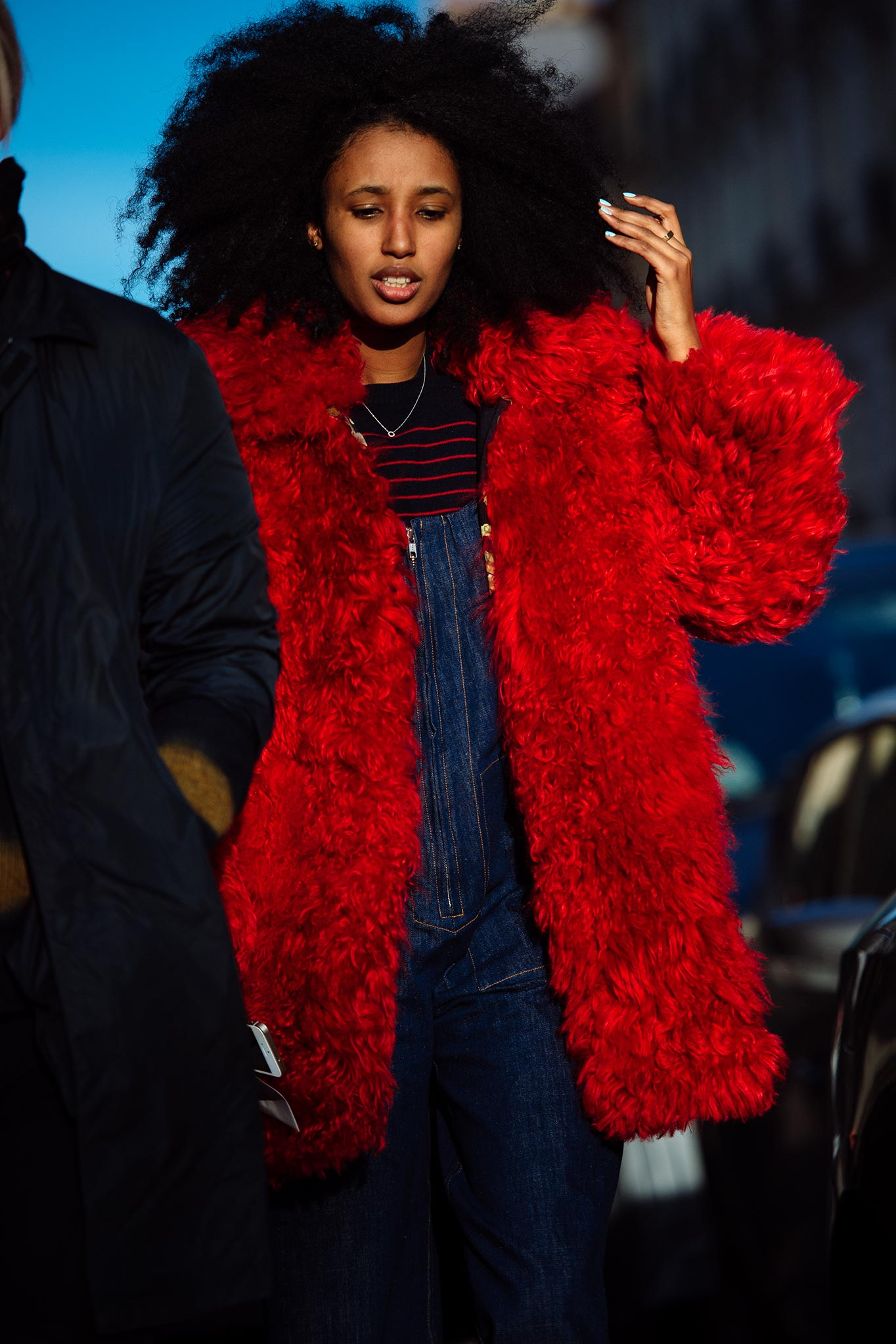 Julia Sarr-Jamois at Paris Fashion Week