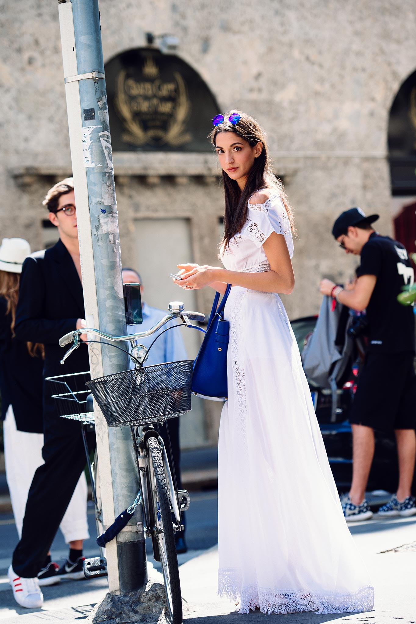 Sara Nicole Rossetto at Milan Fashion Week Spring/Summer