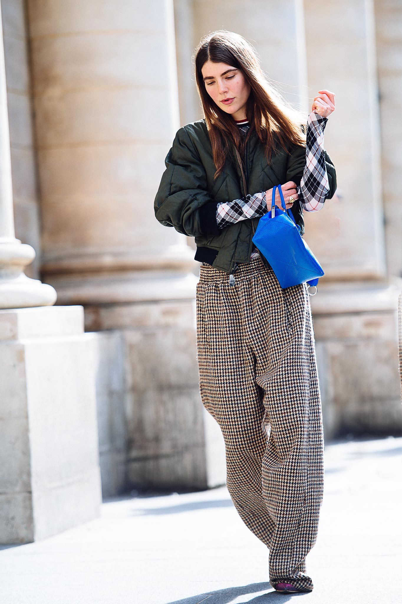 Ursina Gysi at Paris Fashion Week Fall/Winter 2015