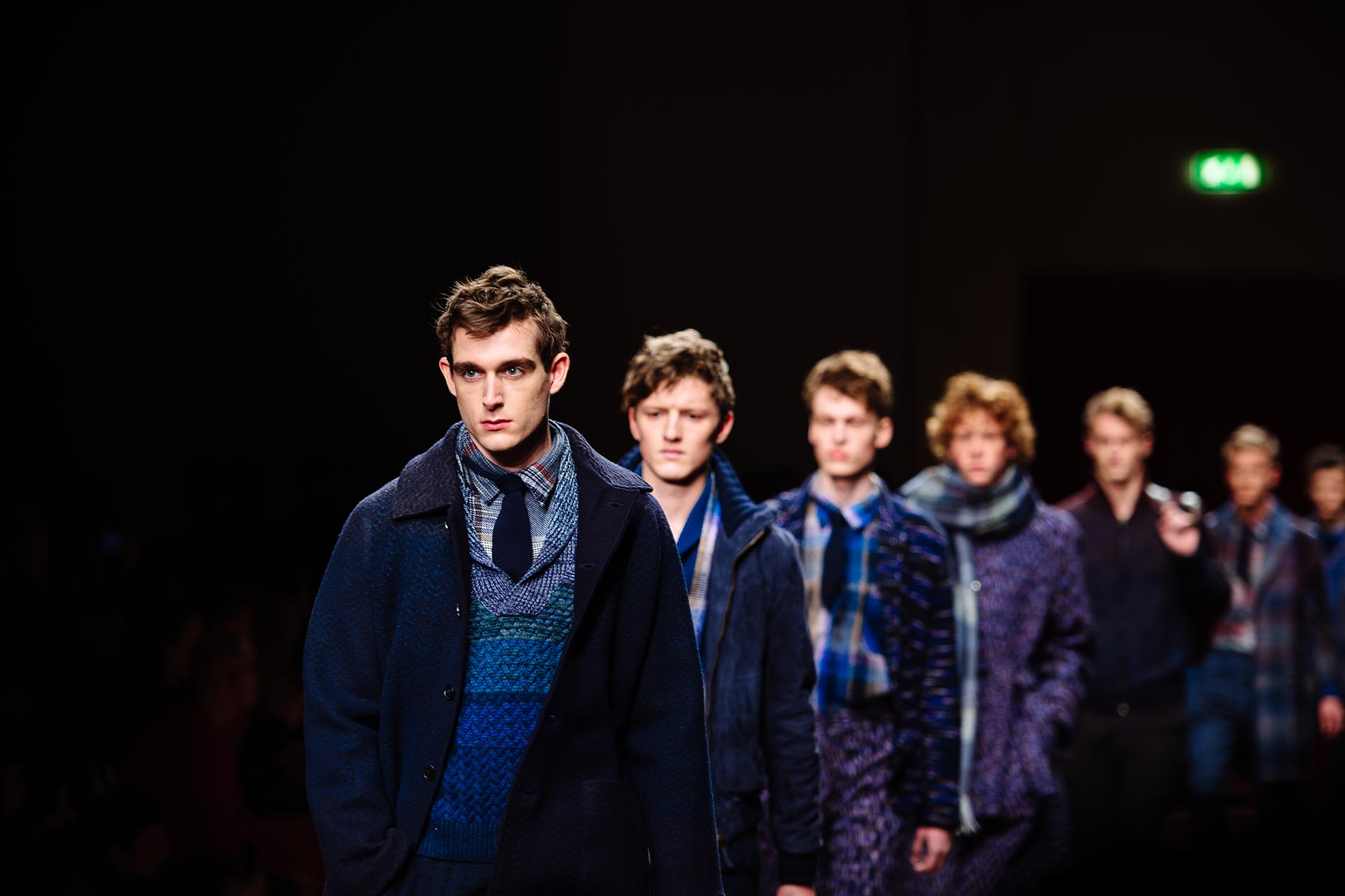 Missoni Men's F/W15 @ MMFW F/W15 - Milan, January 2015