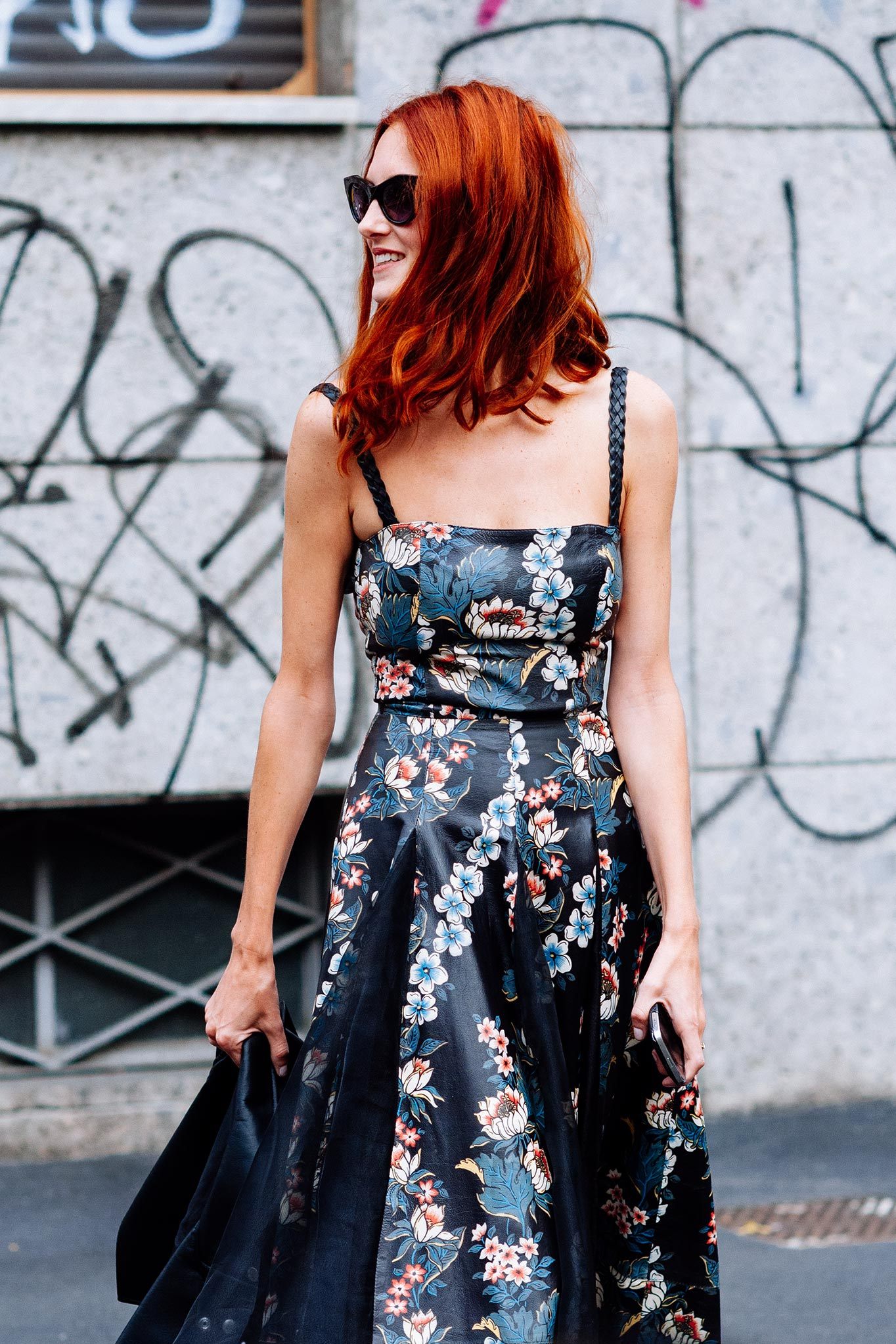Taylor Tomasi Hill at Milan Fashion Week Spring/Summer 2013