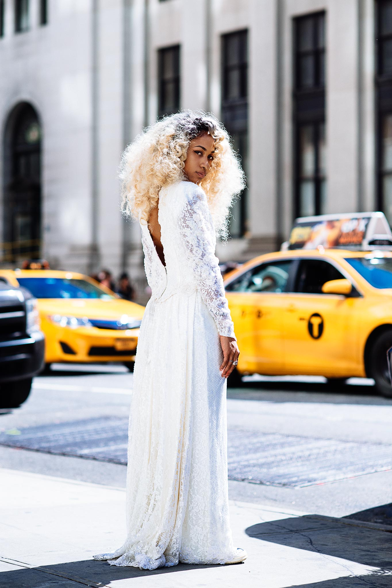 Rhea Carter at New York Fashion Week Spring/Summer 2016