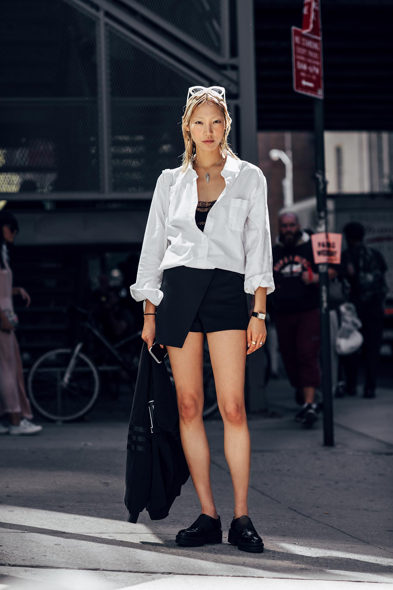 Soo Joo Park at New York Fashion Week Spring/Summer
