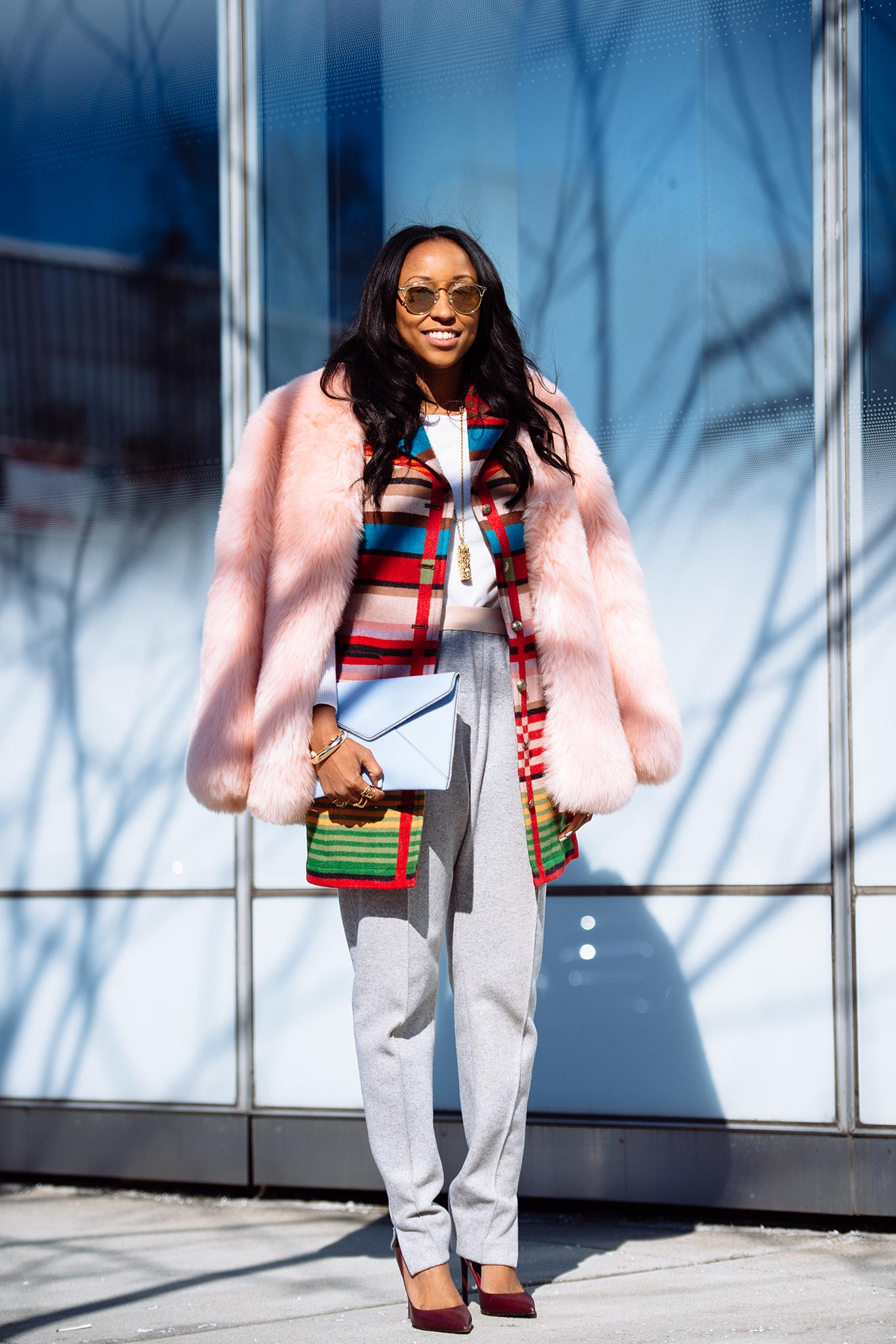 Shiona Turini at New York Fashion Week Fall/Winter 2015