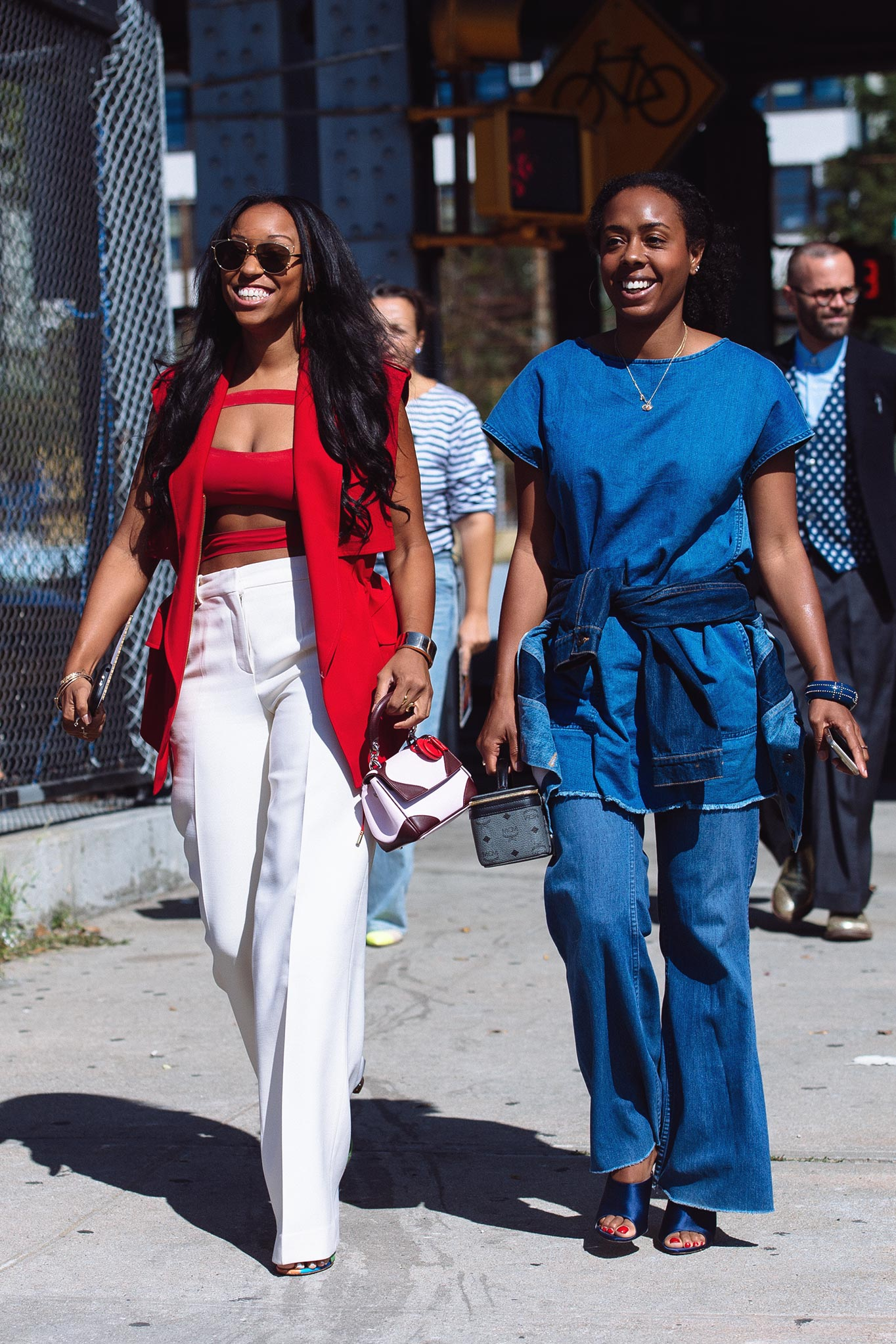 Shiona Turini at New York Fashion Week