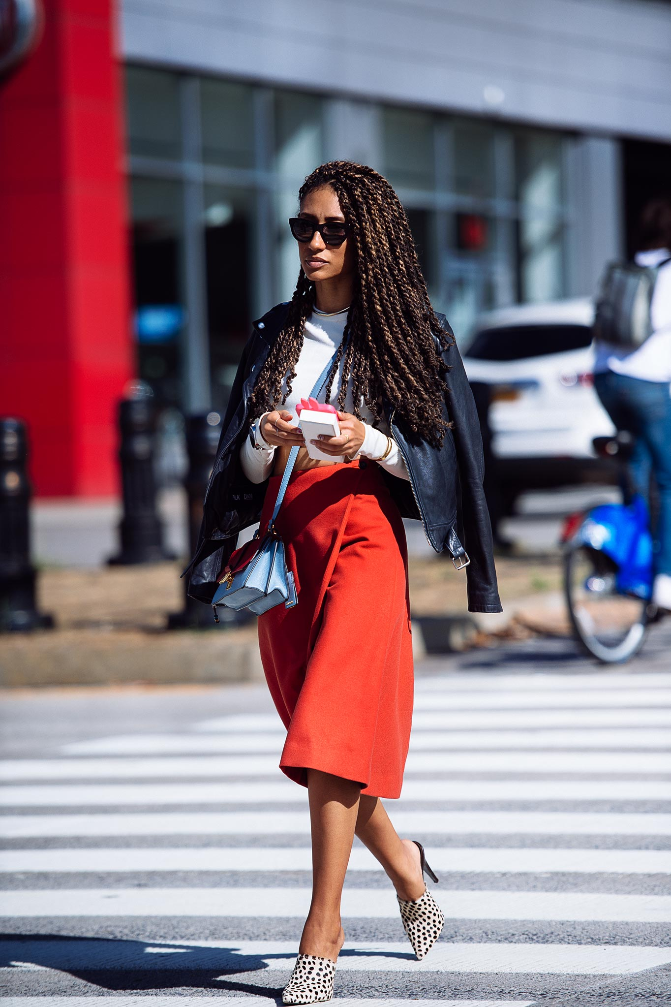 Elaine Welteroth at New York Fashion Week Spring/Summer 2016