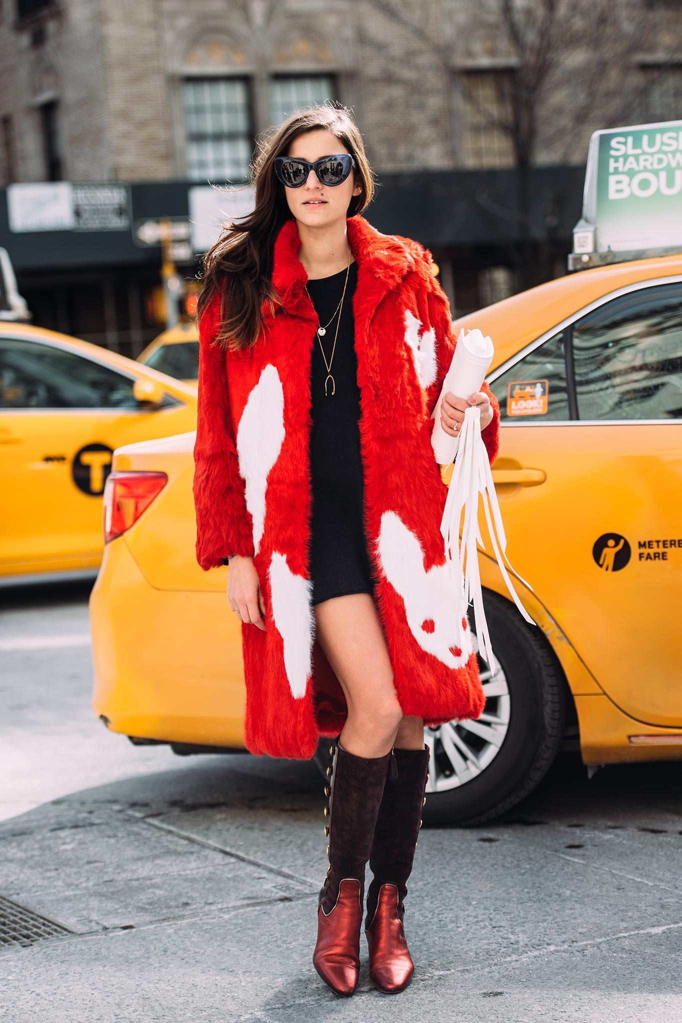 Eleonora Carisi at New York Fashion Week Fall/Winter 2015