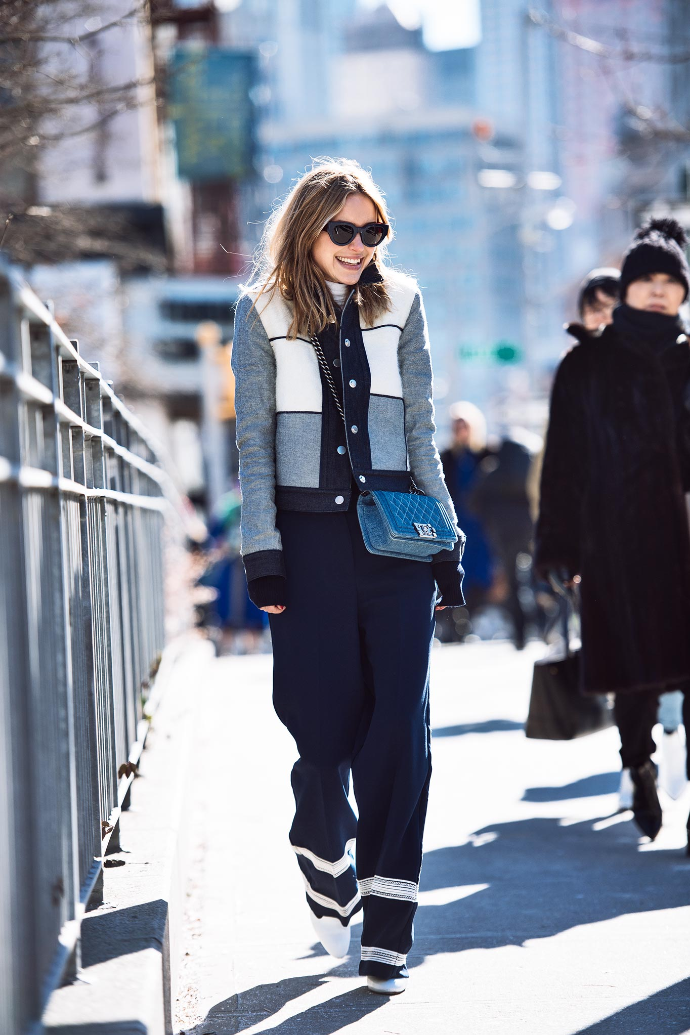 Pernille Teisbaek at New York Fashion Week Fall/Winter 2015