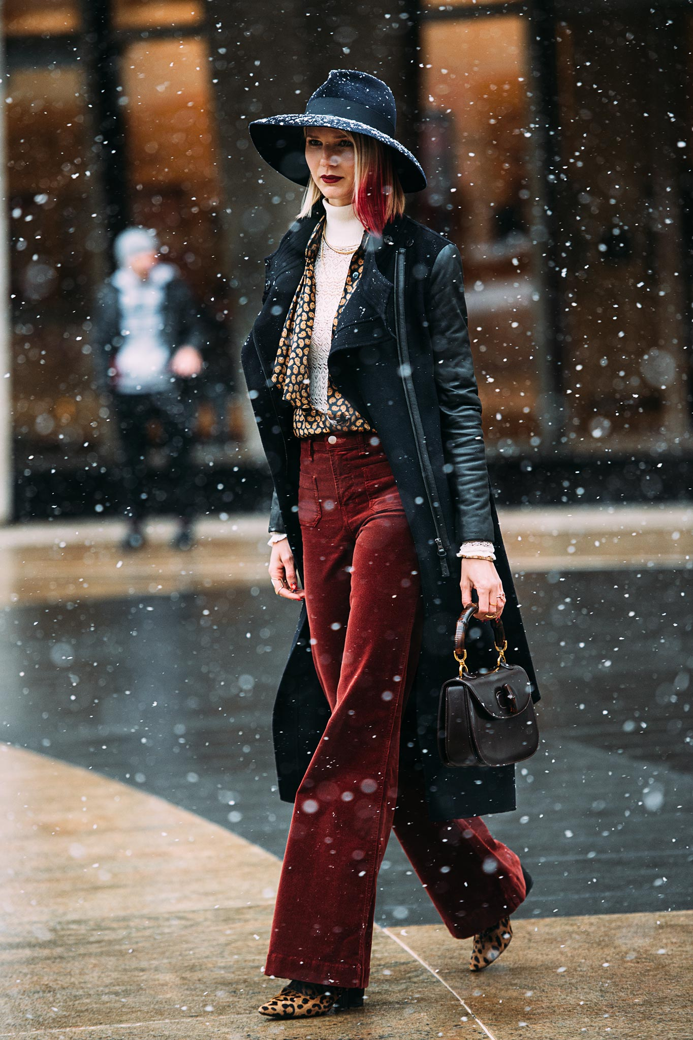 Samantha Angelo at New York Fashion Week Fall/Winter 2015