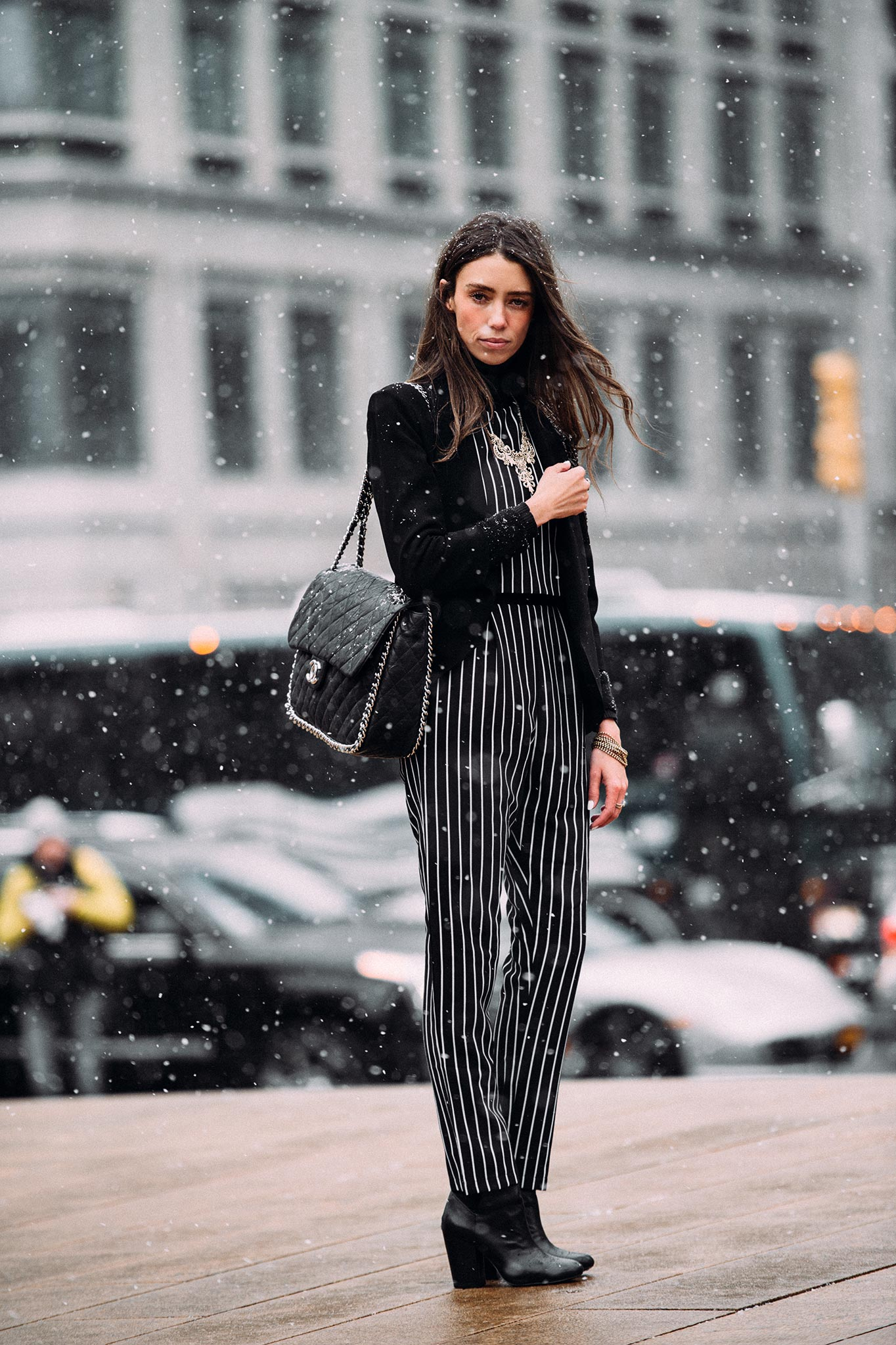 Thania Peck at New York Fashion Week Fall/Winter 2015