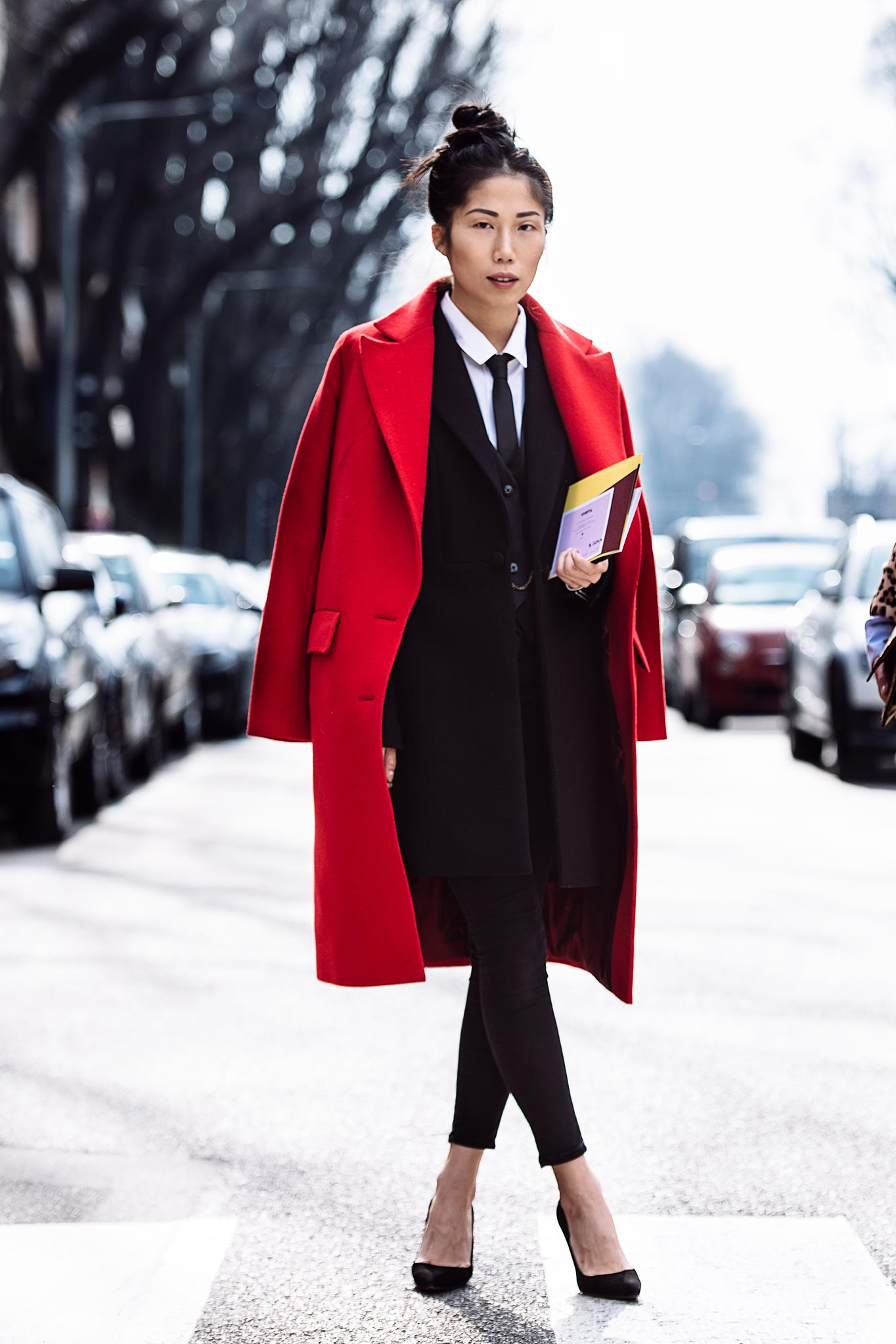 Oksana On at Milan Fashion Week Fall/Winter 2015