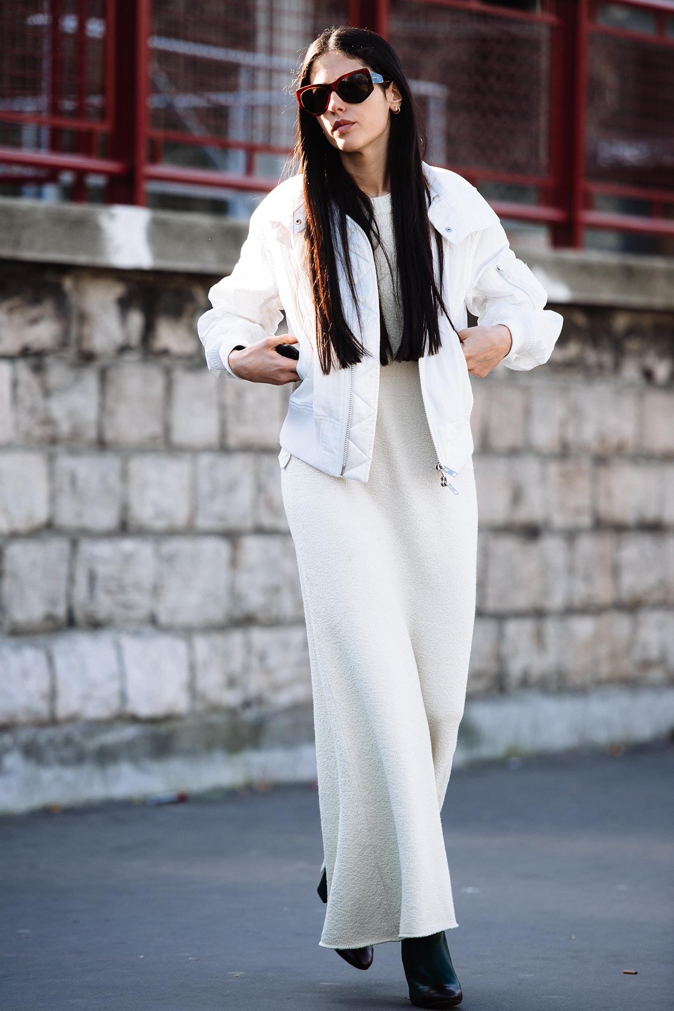 Gilda Ambrosio at Paris Fashion Week Fall/Winter 2015