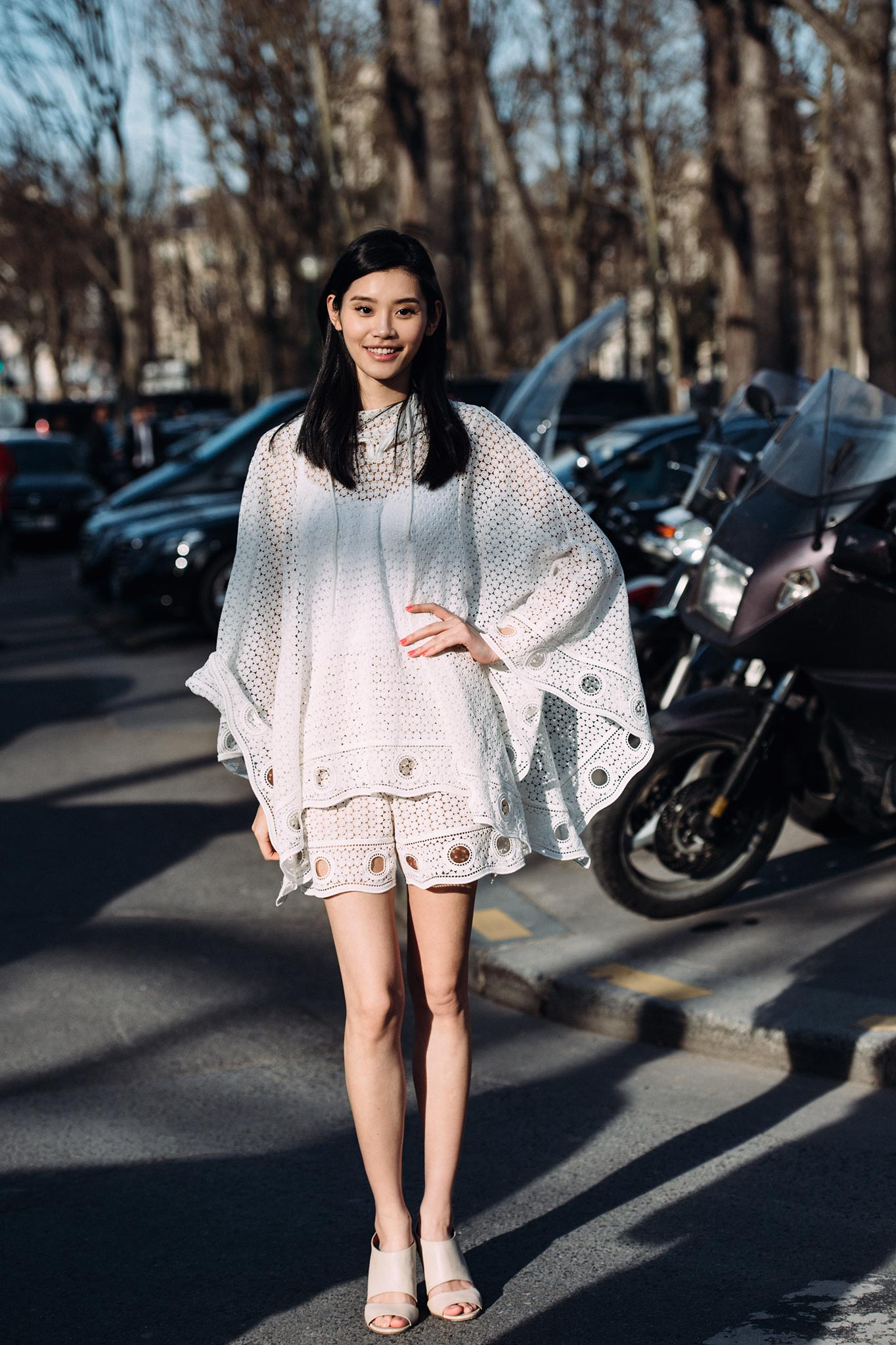 Ming Xi at Paris Fashion Week Fall/Winter 2015