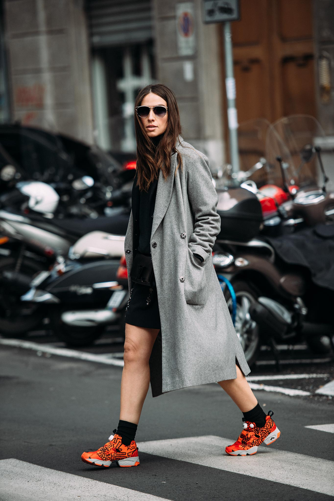 Erika Boldrin at Paris Fashion Week Fall/Winter 2015