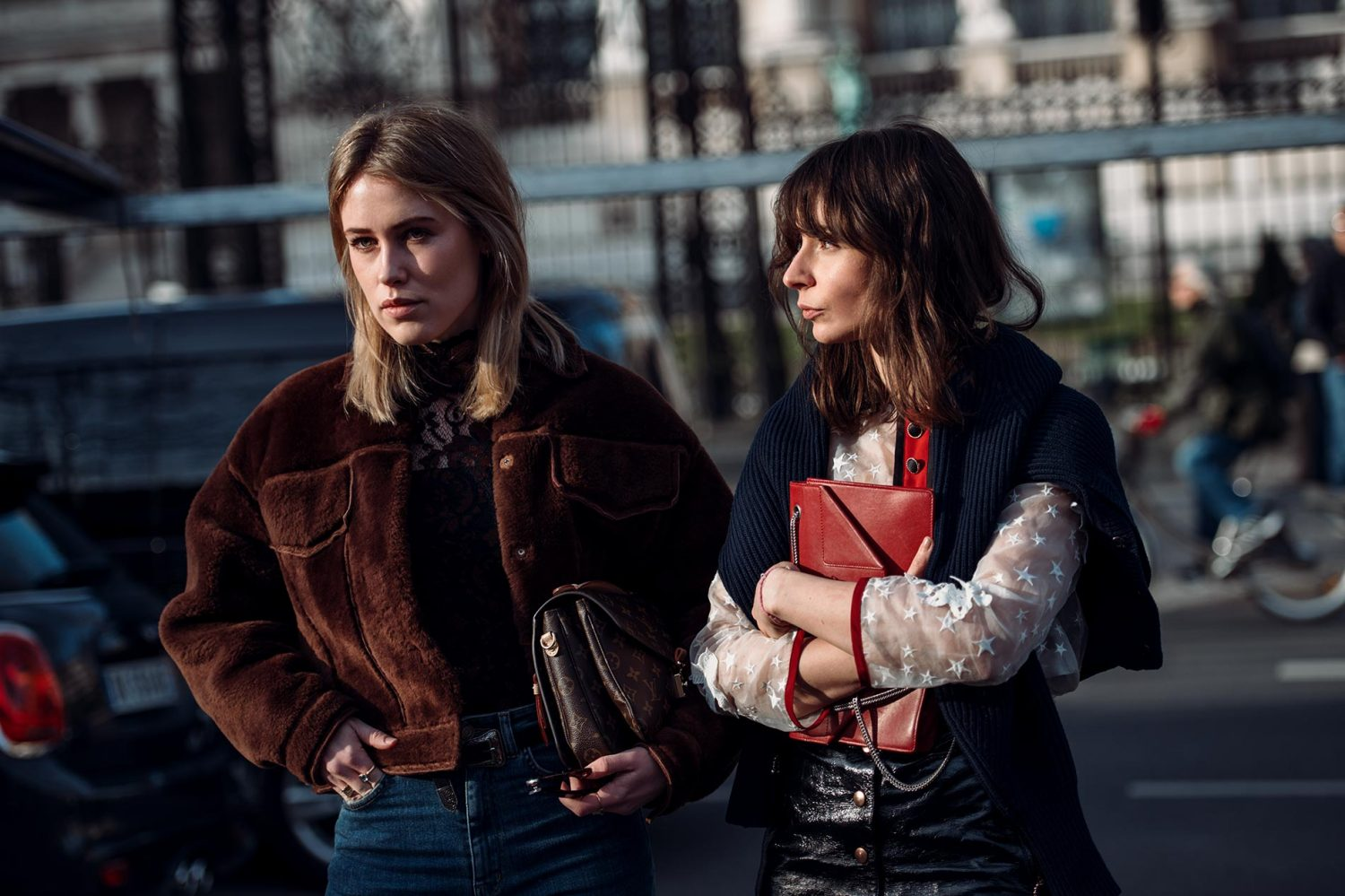 Annabel Rosendahl, Irina Lakicevic at Paris Fashion Week Fall/Winter 2015
