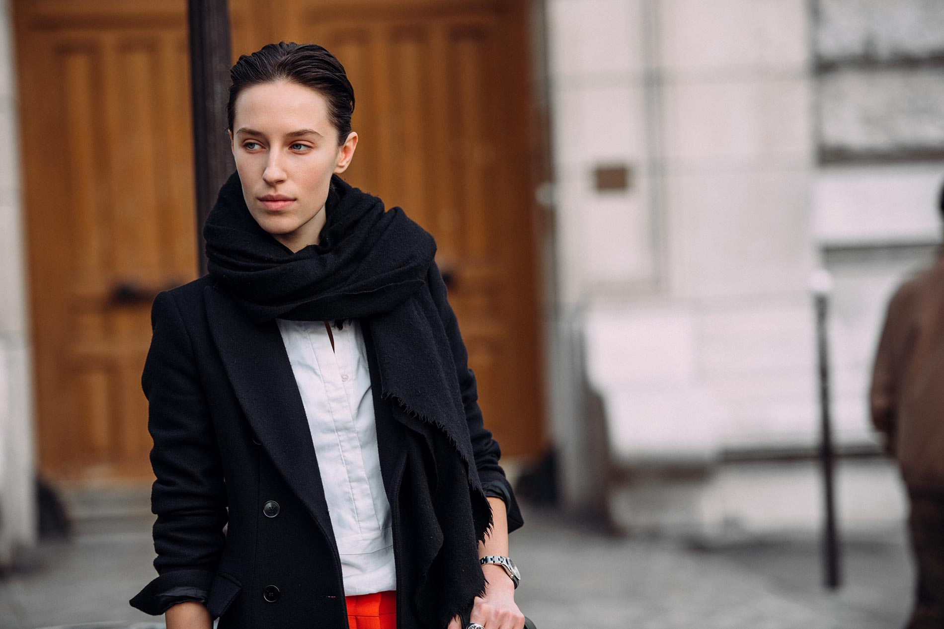 Alix Angjeli at Paris Fashion Week Fall/Winter 2015