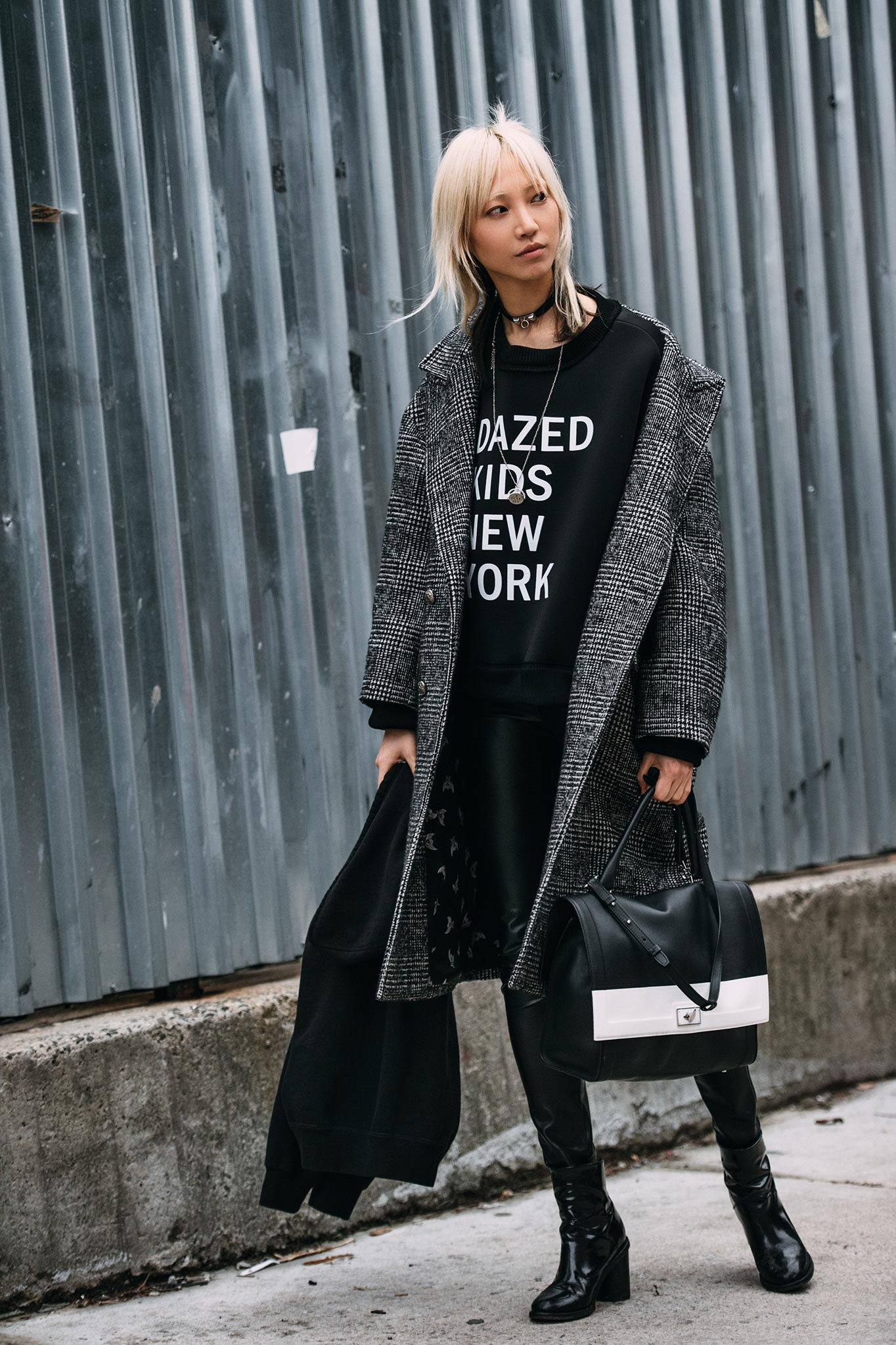 Soo Joo Park at New York Fashion Week Fall/Winter 2016