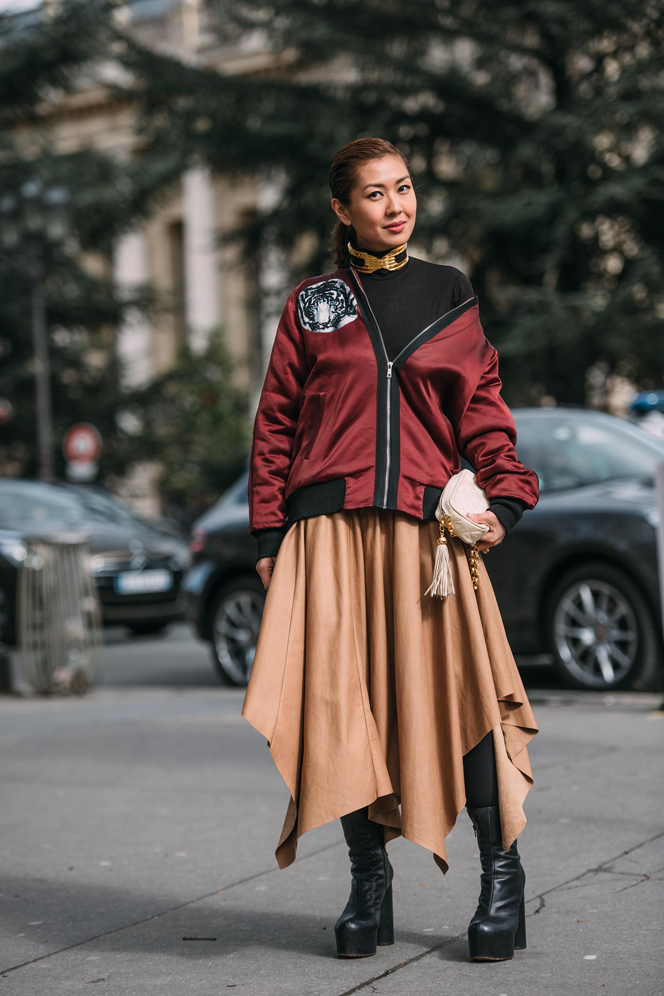 Liz Uy at Paris Fashion Week Fall/Winter 2016