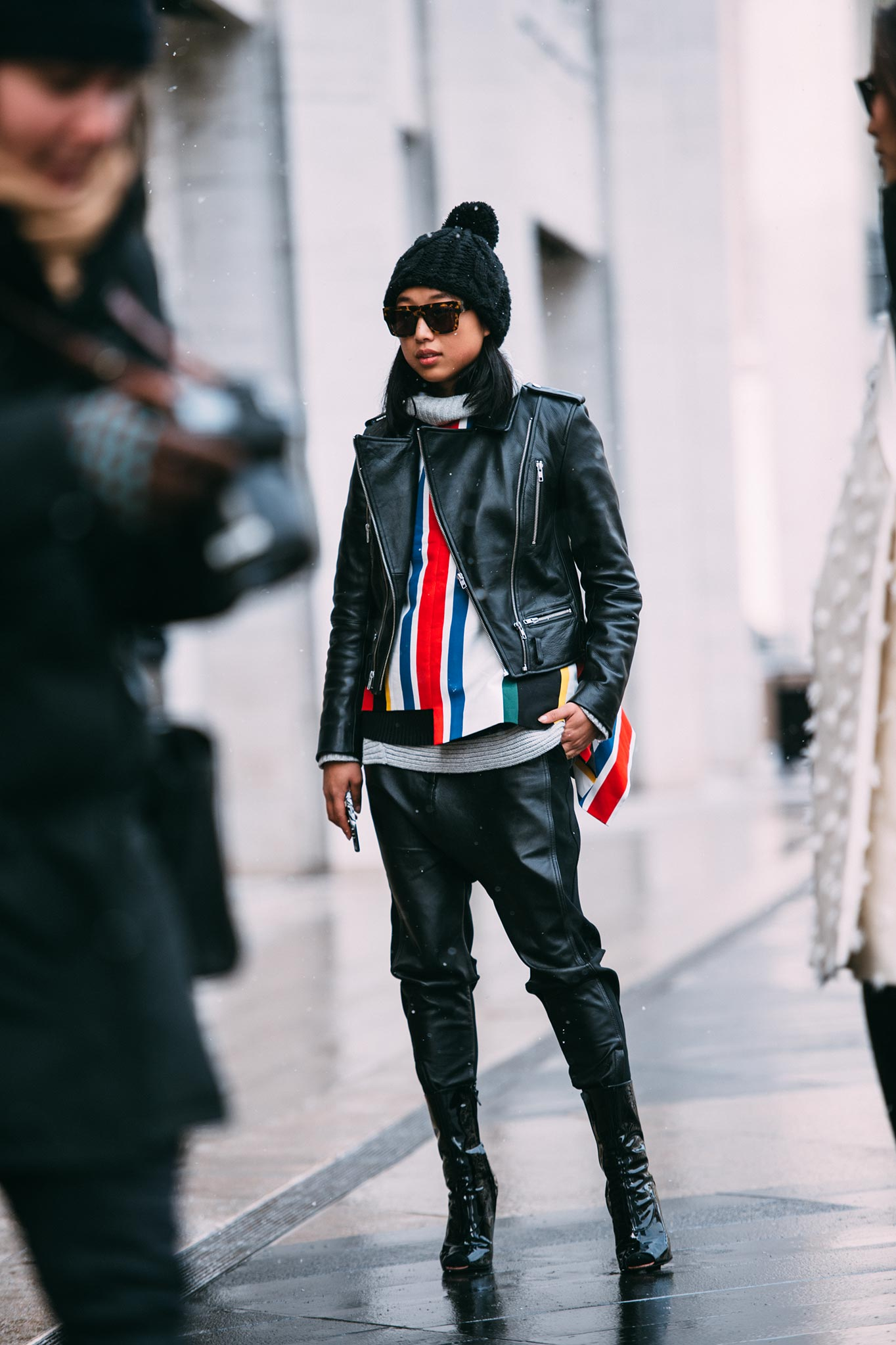 Margaret Zhang at New York Fashion Week Fall/Winter 2015