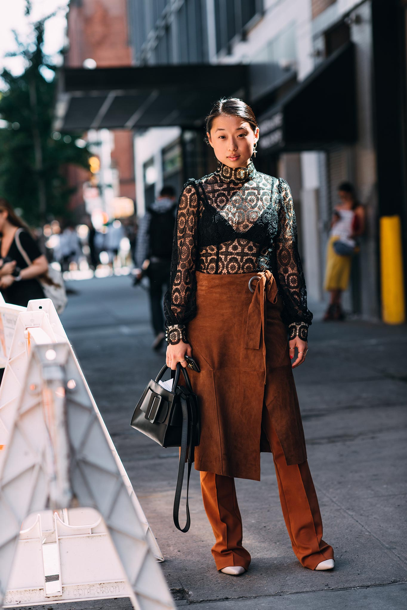 Margaret Zhang at New York Fashion Week Spring/Summer 2016