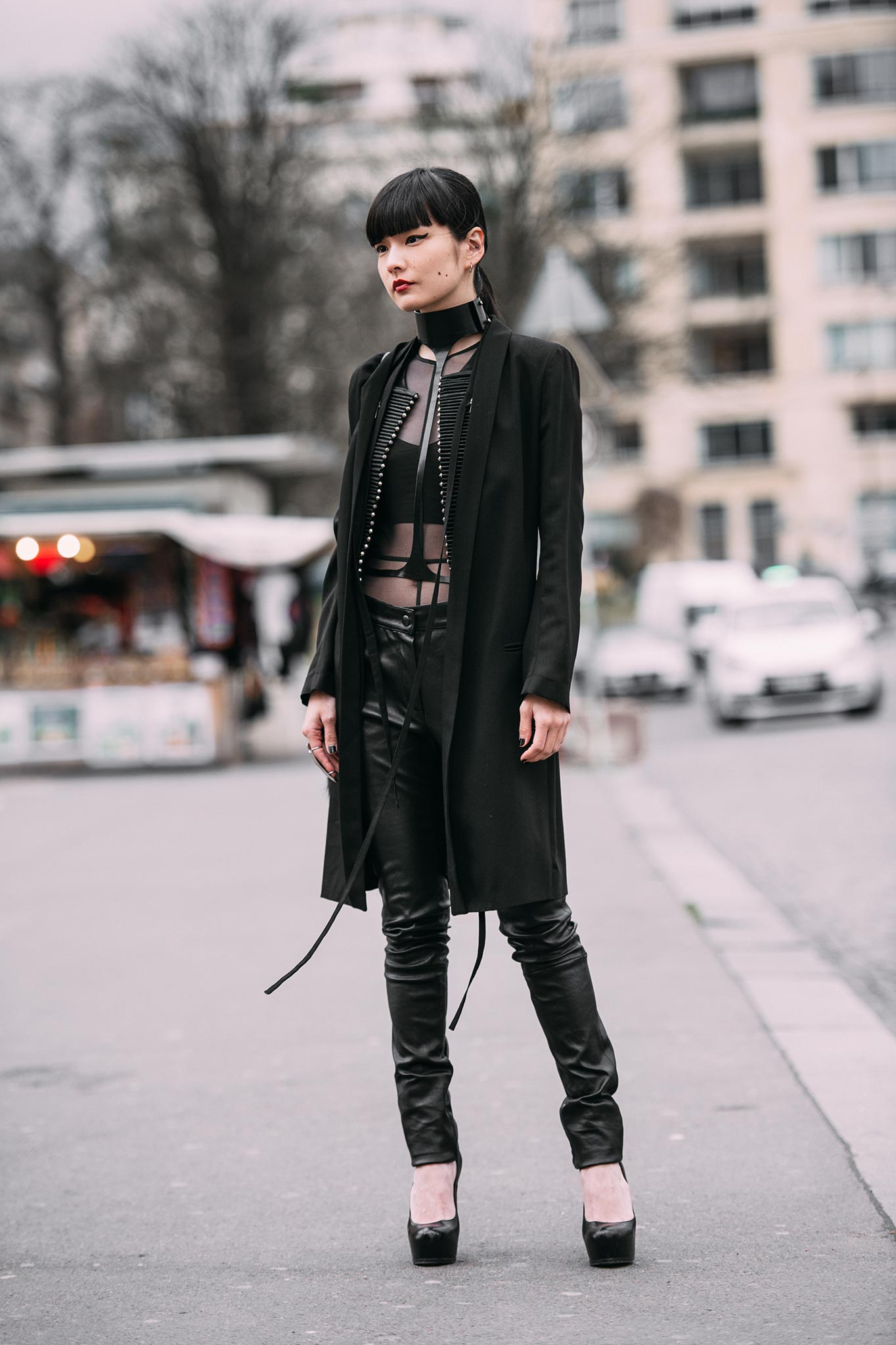 Kozue Akimoto at Paris Fashion Week Fall/Winter 2016
