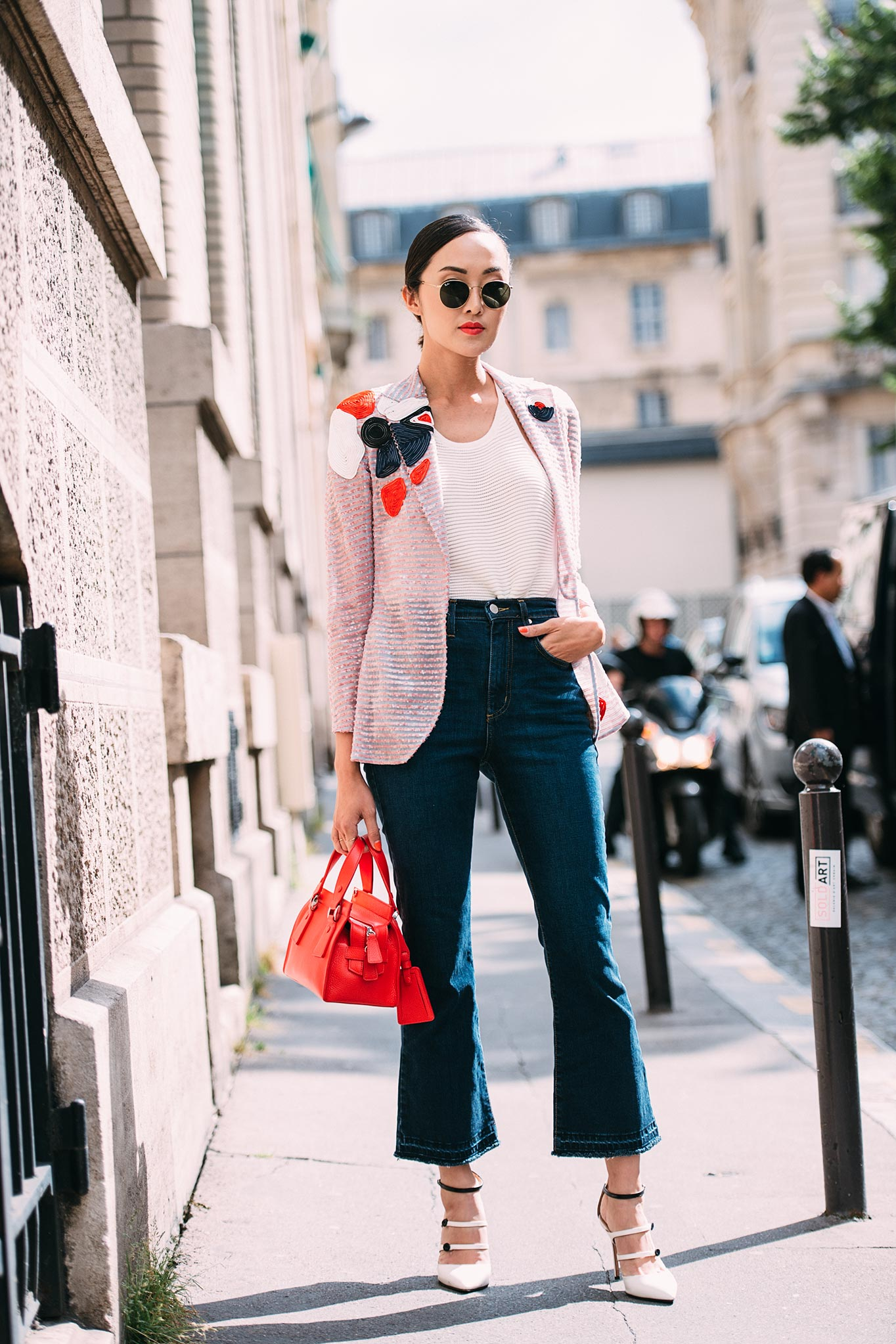 Chriselle Lim at Paris Couture Fashion Week